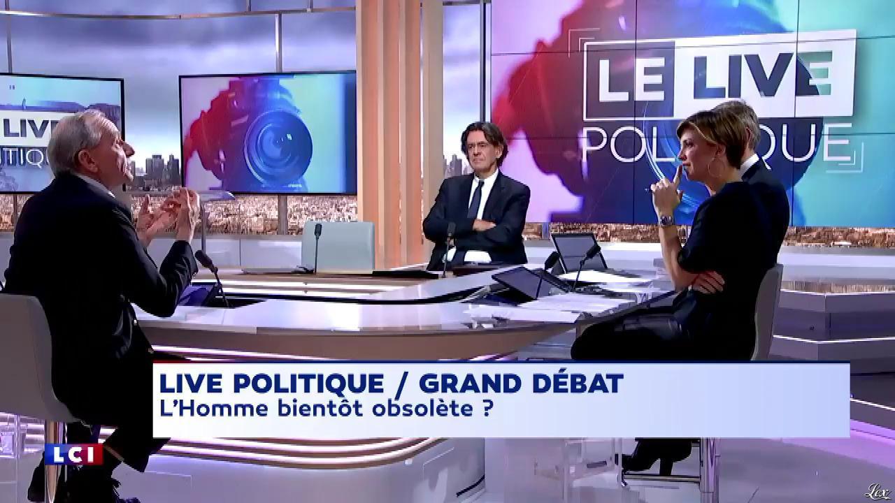 Bénédicte Le Chatelier dans le Live Politique. Diffusé à la télévision le 07/01/18.