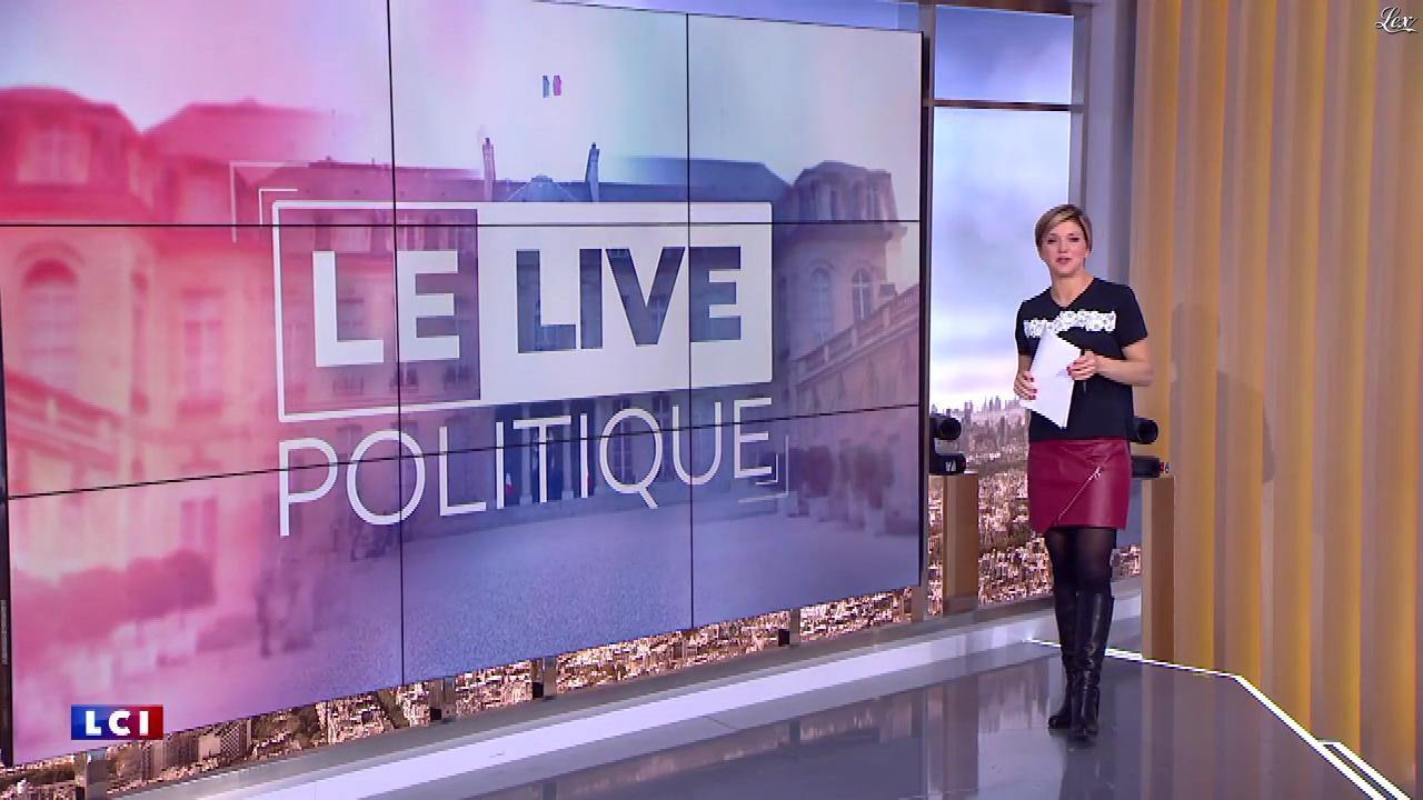 Bénédicte Le Chatelier dans le Live Politique. Diffusé à la télévision le 17/12/17.