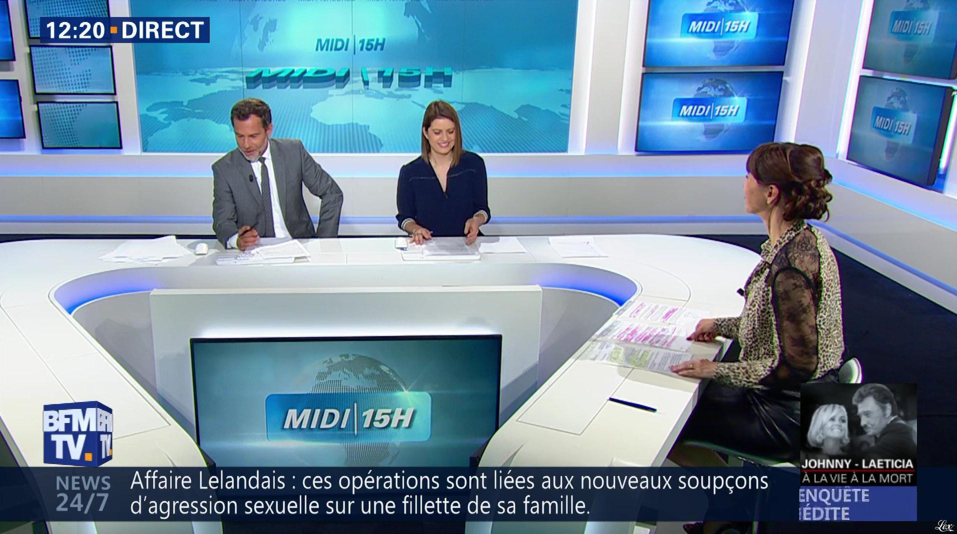 Candice Mahout dans le Midi-15h. Diffusé à la télévision le 06/06/18.