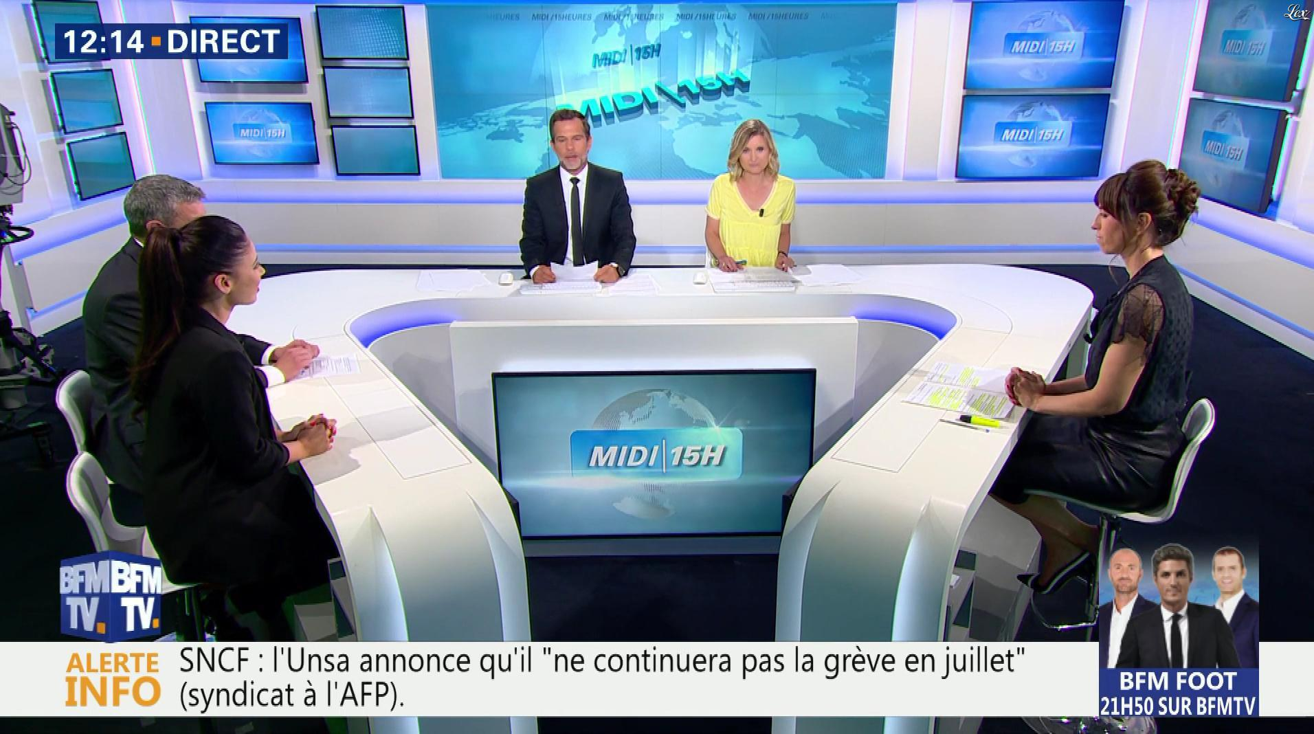 Candice Mahout dans le Midi-15h. Diffusé à la télévision le 19/06/18.