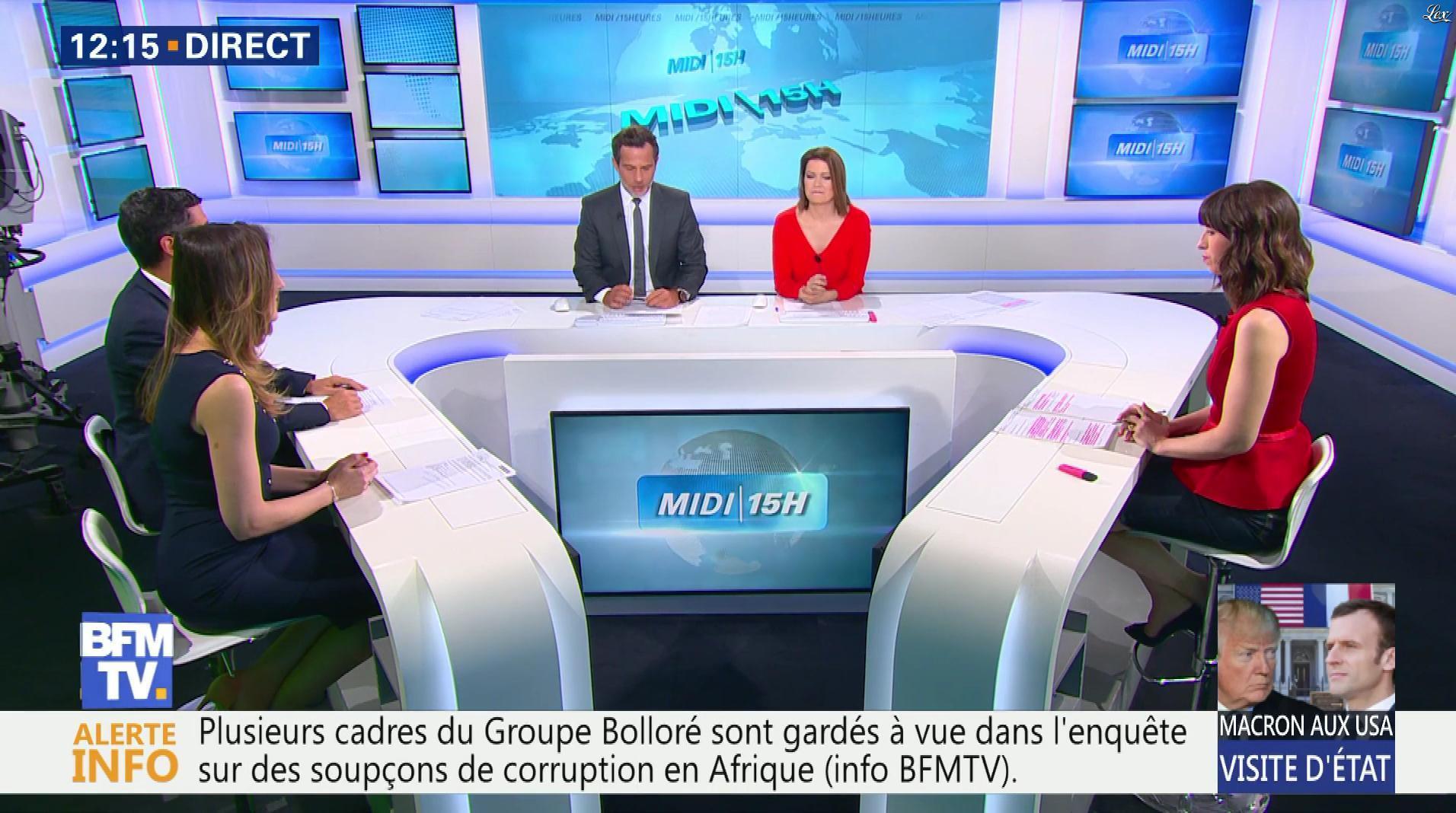 Candice Mahout dans le Midi-15h. Diffusé à la télévision le 24/04/18.