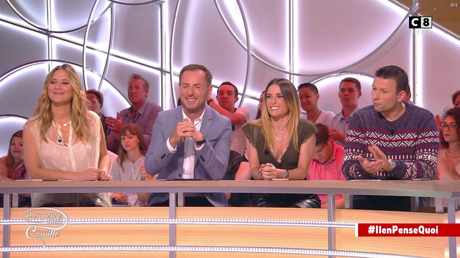Capucine Anav dans Il en Pense Quoi Camille. Diffusé à la télévision le 06/06/17.