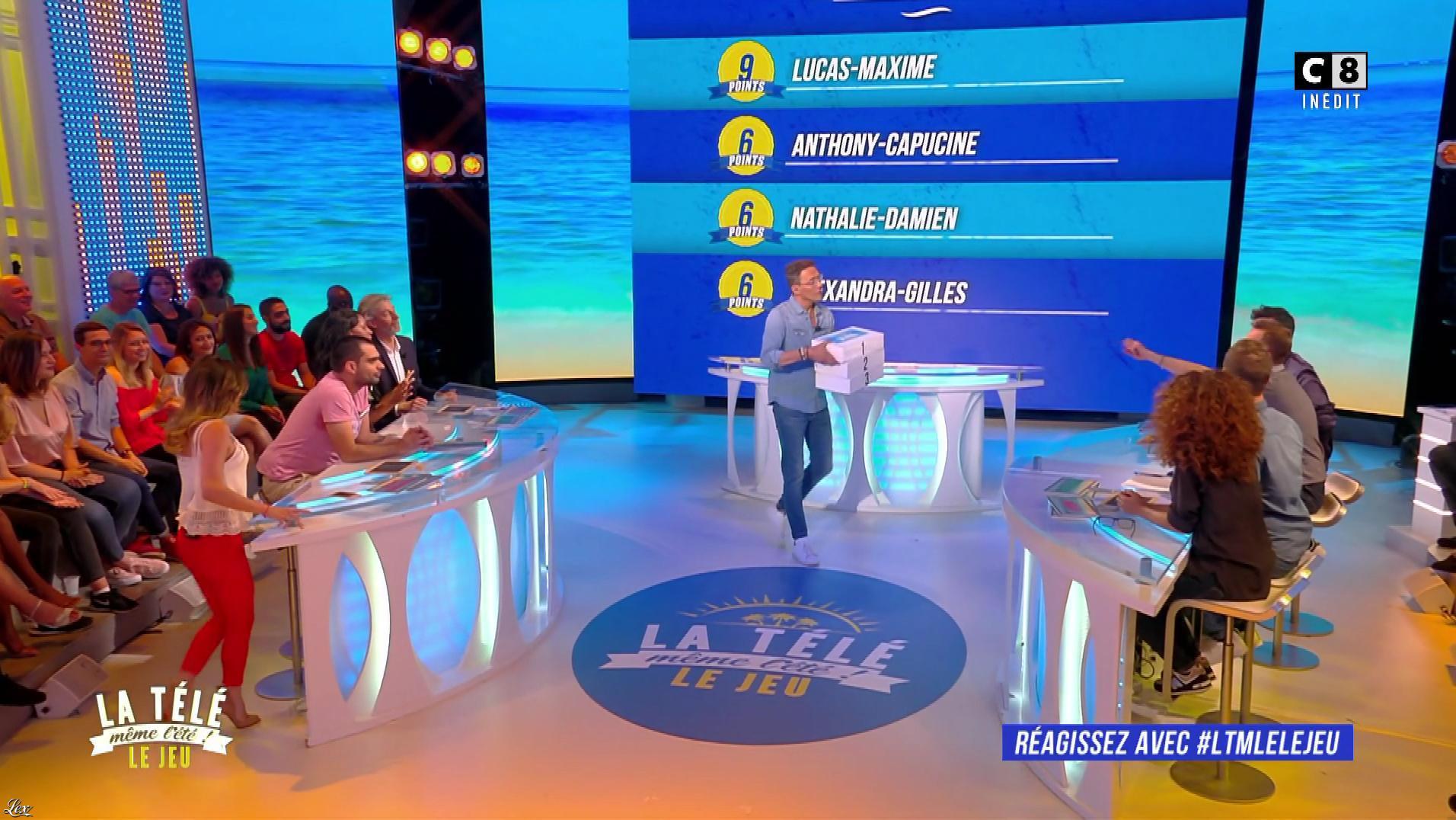 Capucine Anav dans la Télé, même l'été. Diffusé à la télévision le 17/07/17.
