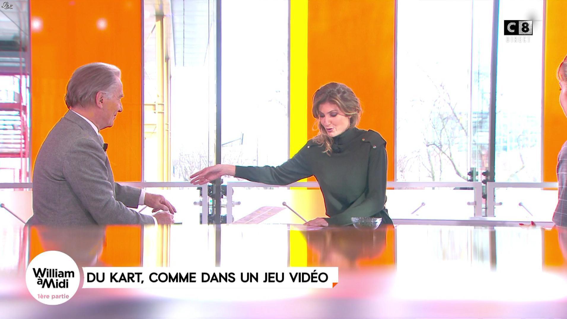 Caroline Ithurbide dans William à Midi. Diffusé à la télévision le 14/12/17.