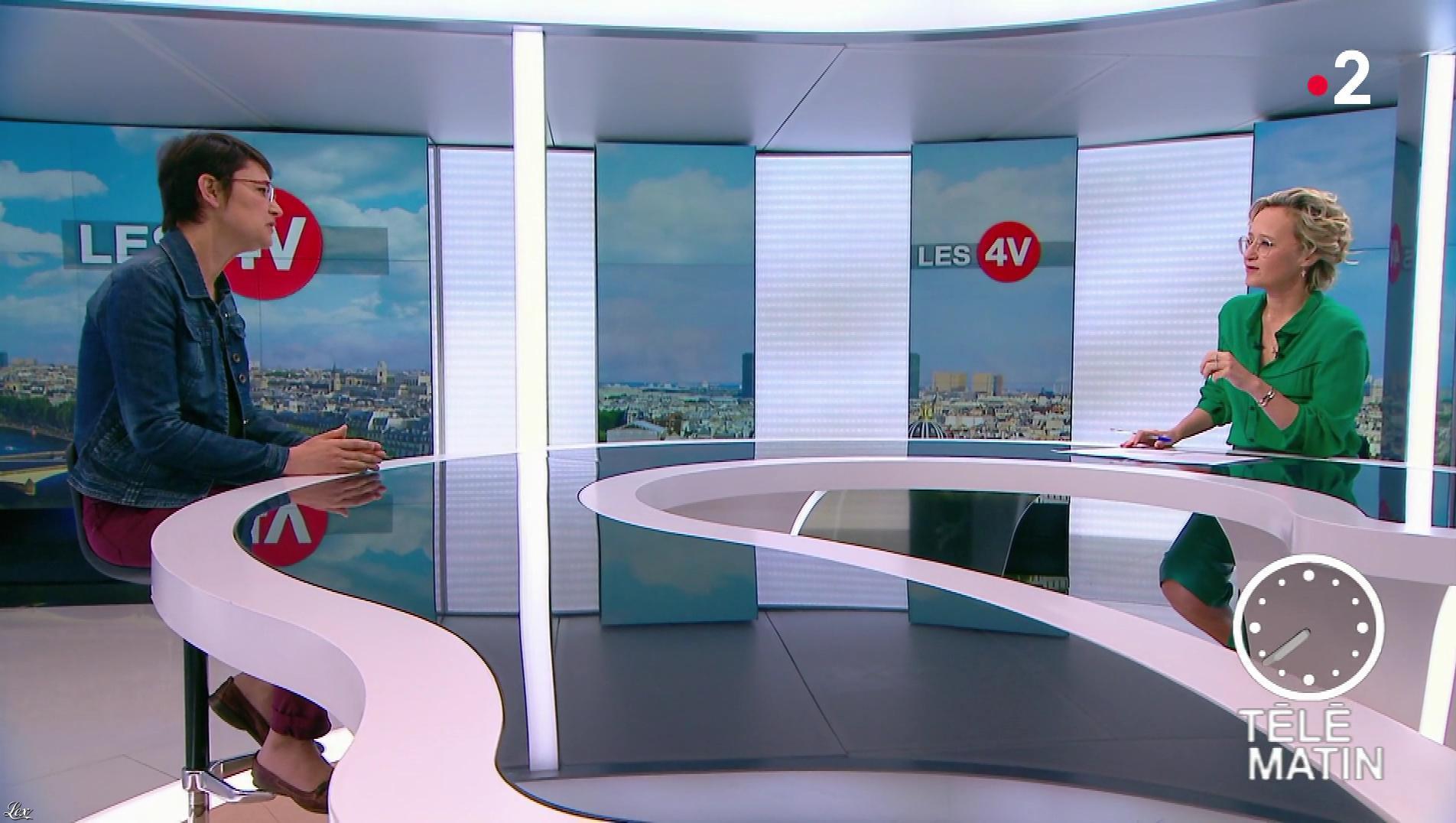 Caroline Roux dans les 4 Vérités. Diffusé à la télévision le 01/05/18.