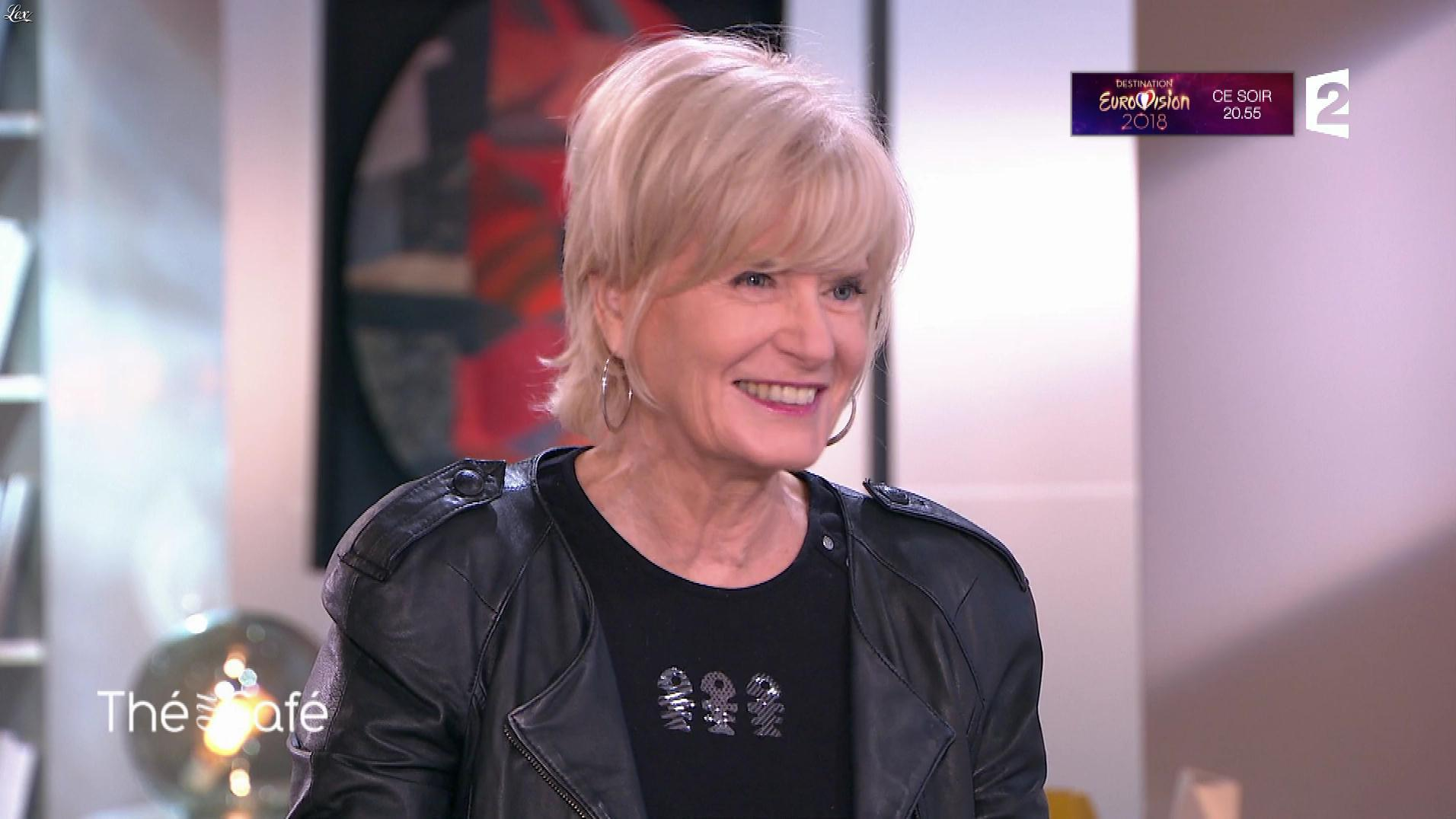 Catherine Ceylac dans The ou Cafe. Diffusé à la télévision le 13/01/18.