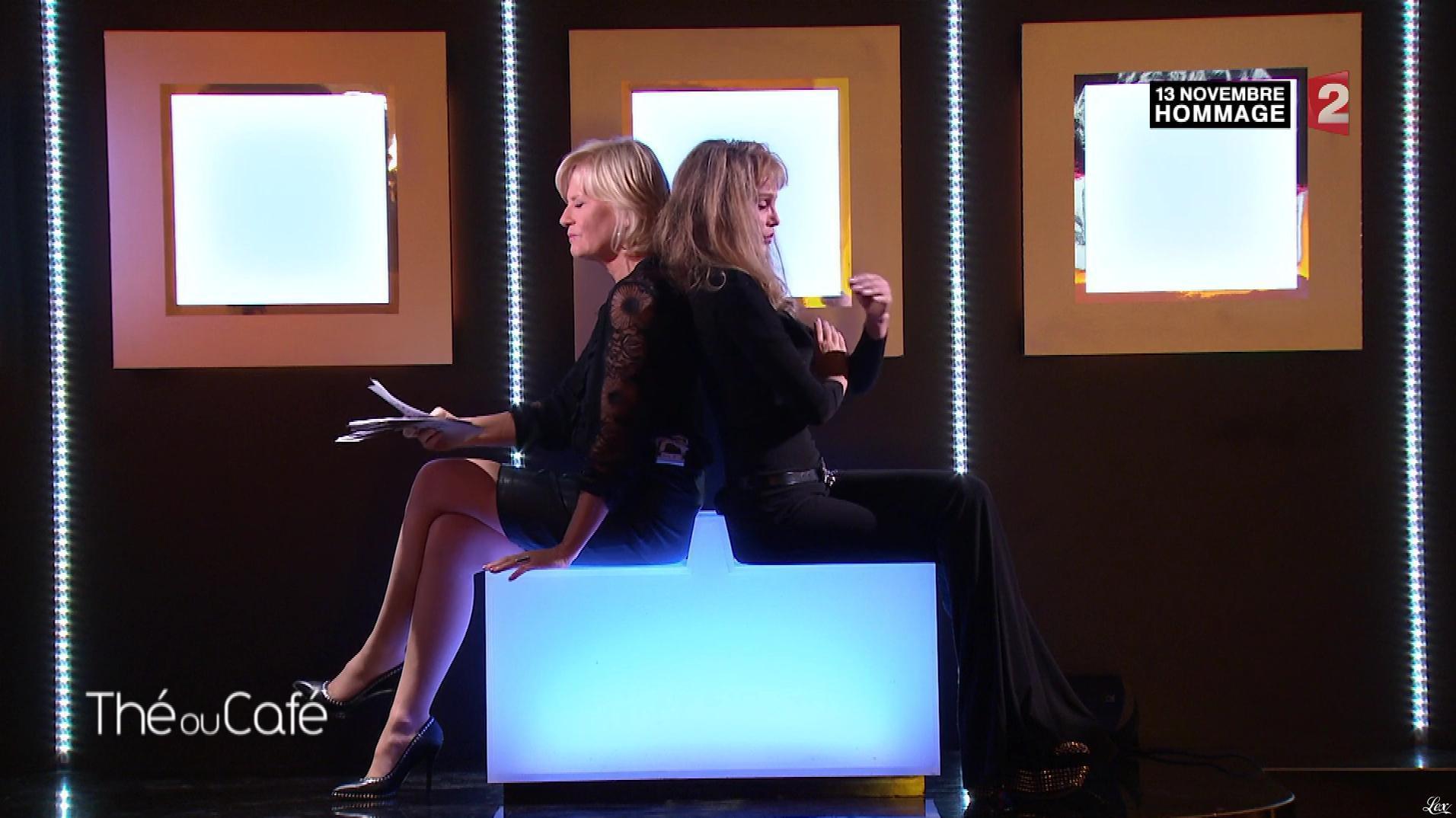 Catherine Ceylac dans The ou Cafe. Diffusé à la télévision le 13/11/16.