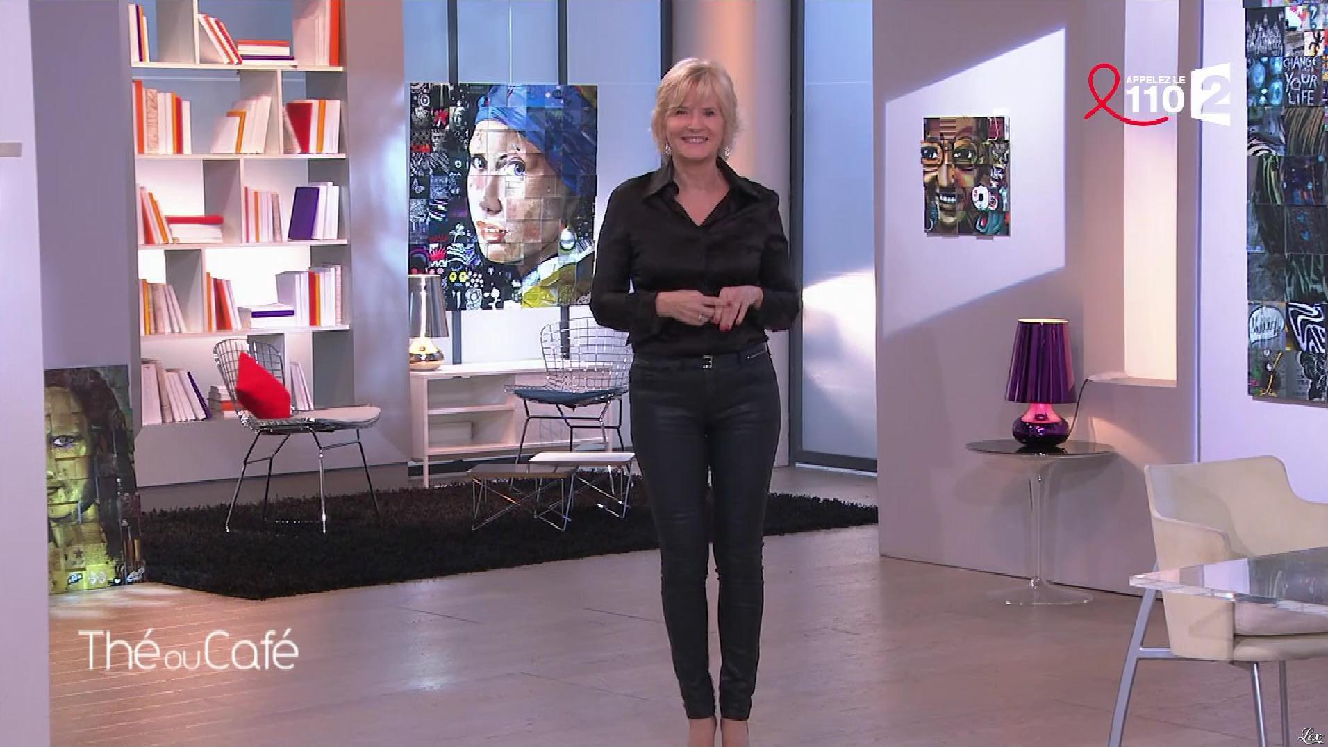 Catherine Ceylac dans The ou Cafe. Diffusé à la télévision le 25/03/17.