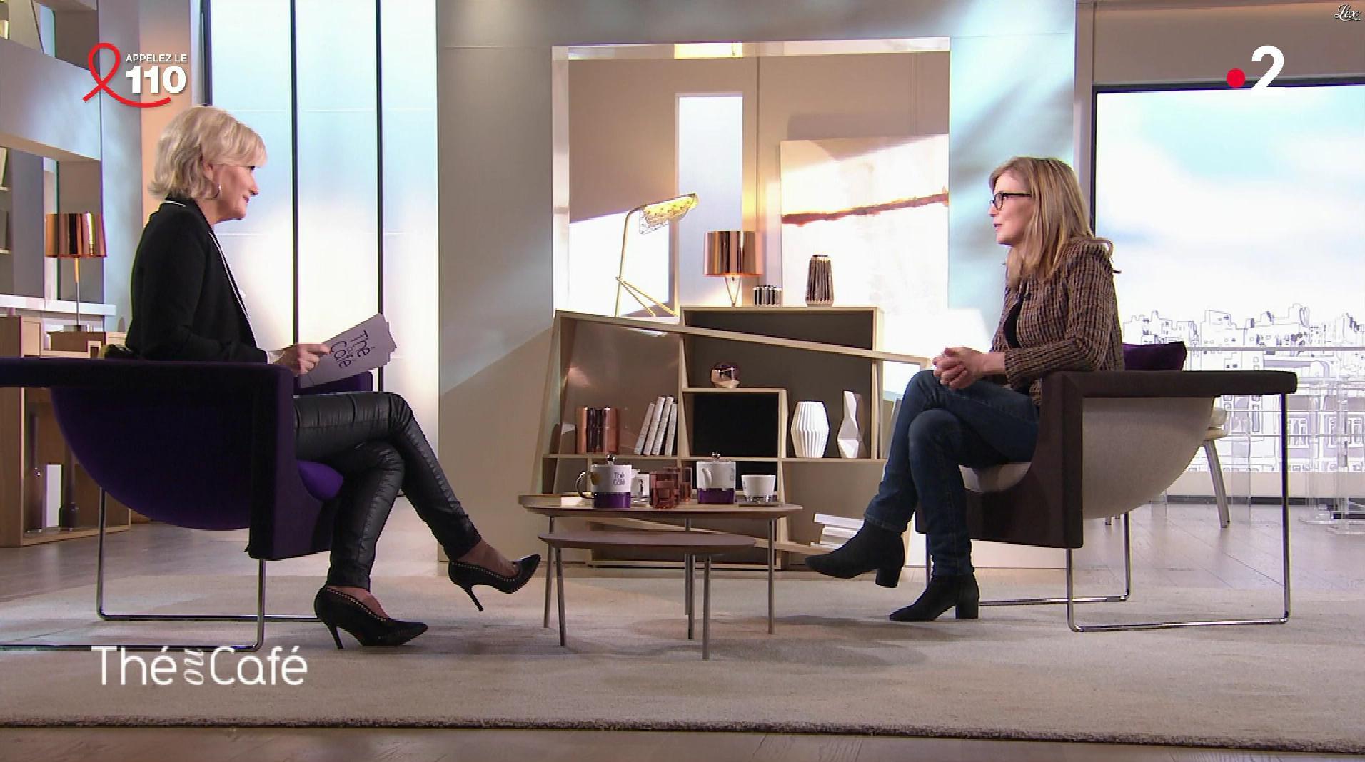 Catherine Ceylac dans The ou Cafe. Diffusé à la télévision le 25/03/18.