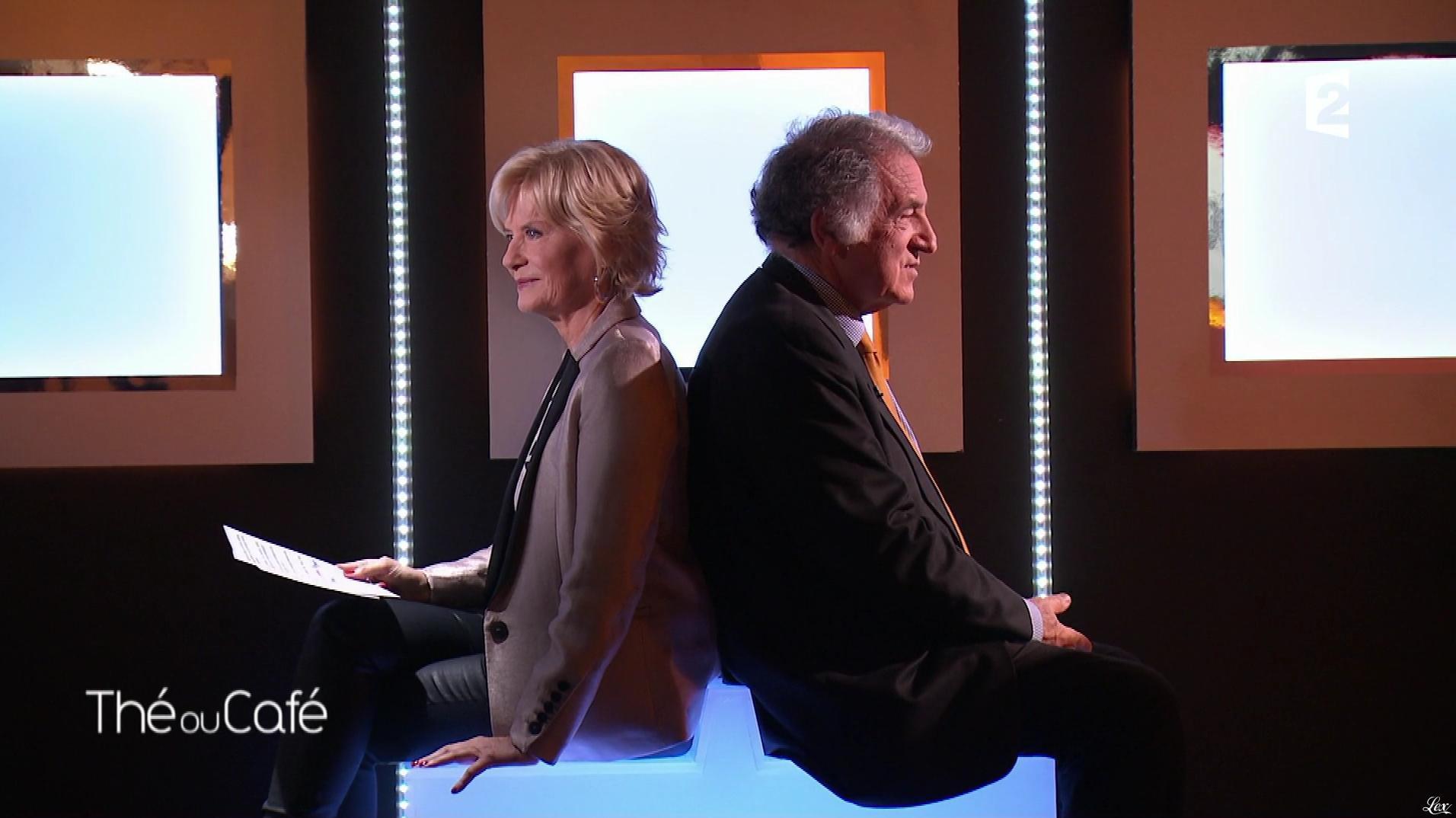 Catherine Ceylac dans The ou Cafe. Diffusé à la télévision le 29/01/17.