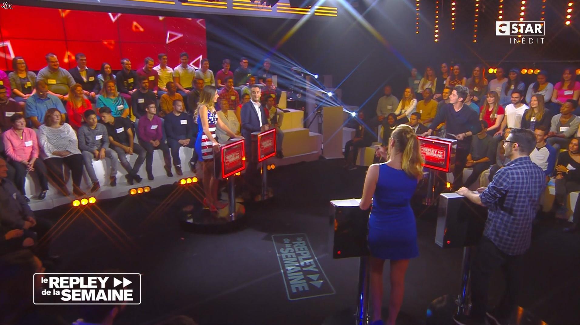 Clio Pajczer et Camille Cerf dans le Repley. Diffusé à la télévision le 11/11/16.
