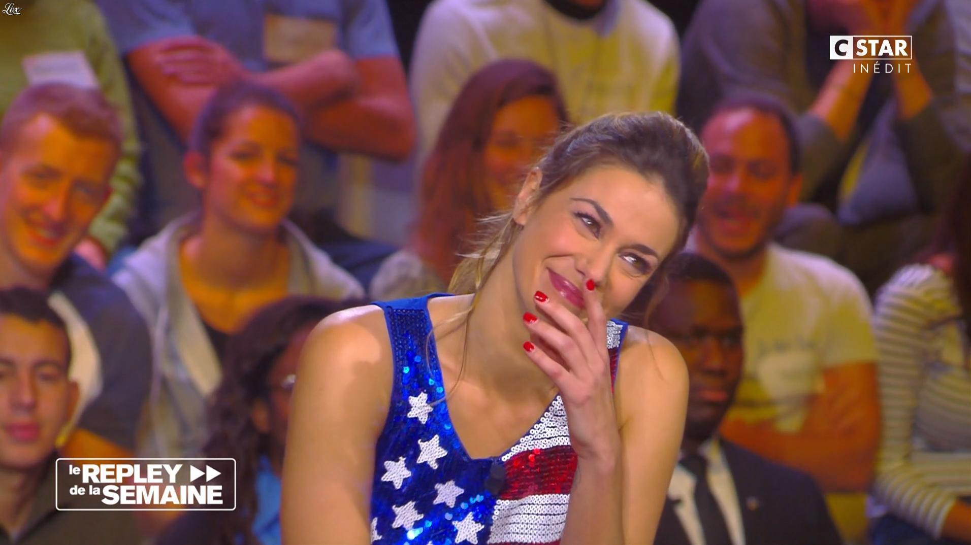 Clio Pajczer dans le Repley. Diffusé à la télévision le 11/11/16.