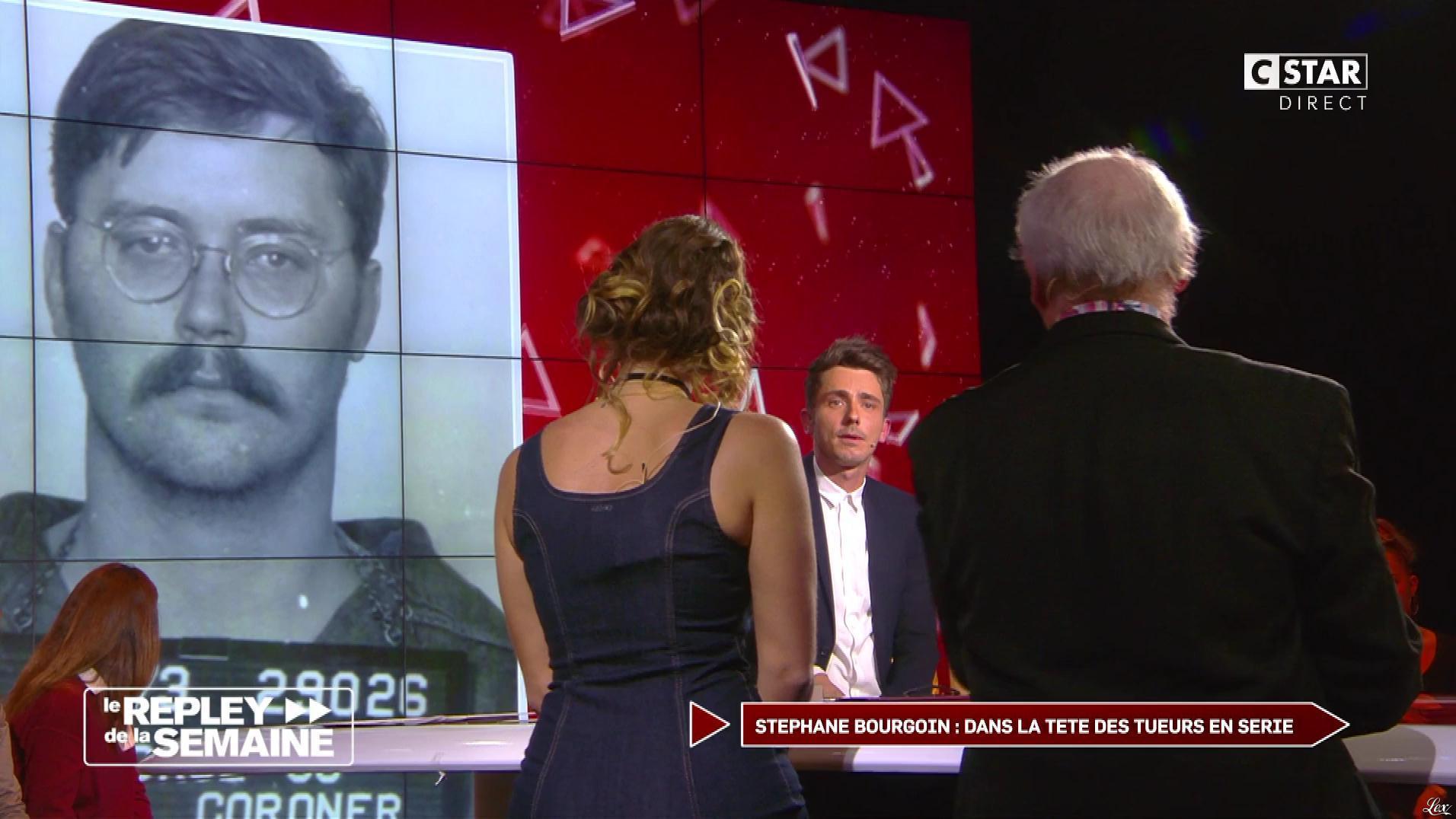 Clio Pajczer dans le Repley. Diffusé à la télévision le 17/02/17.