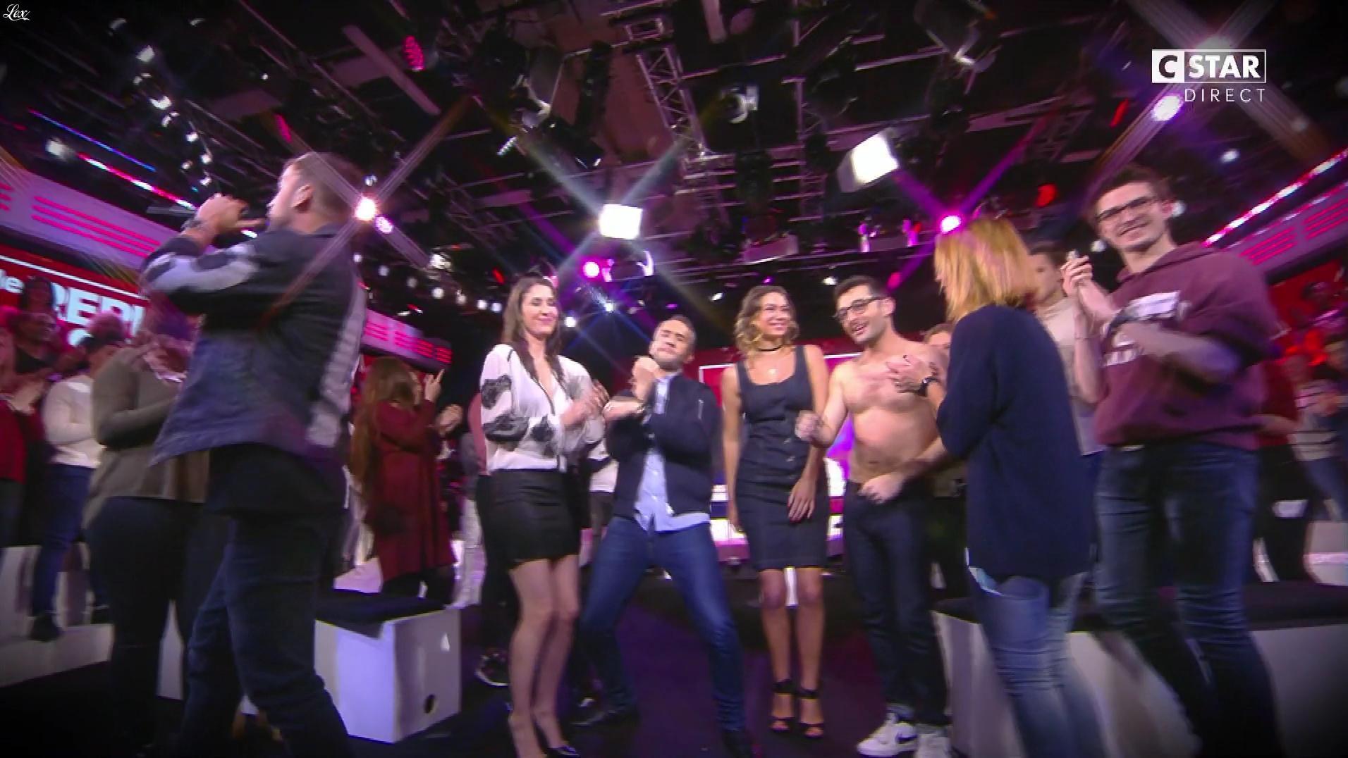 Clio Pajczer et Nephael dans le Repley. Diffusé à la télévision le 17/02/17.