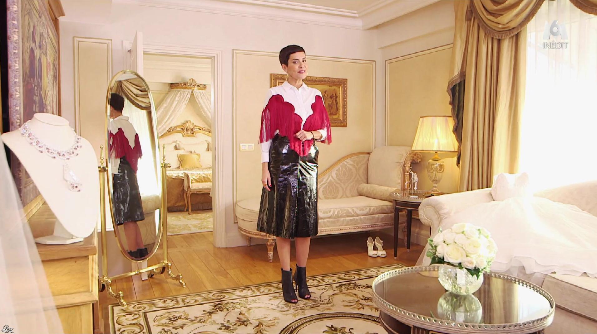 Cristina Cordula dans la Robe de ma Vie. Diffusé à la télévision le 12/03/18.