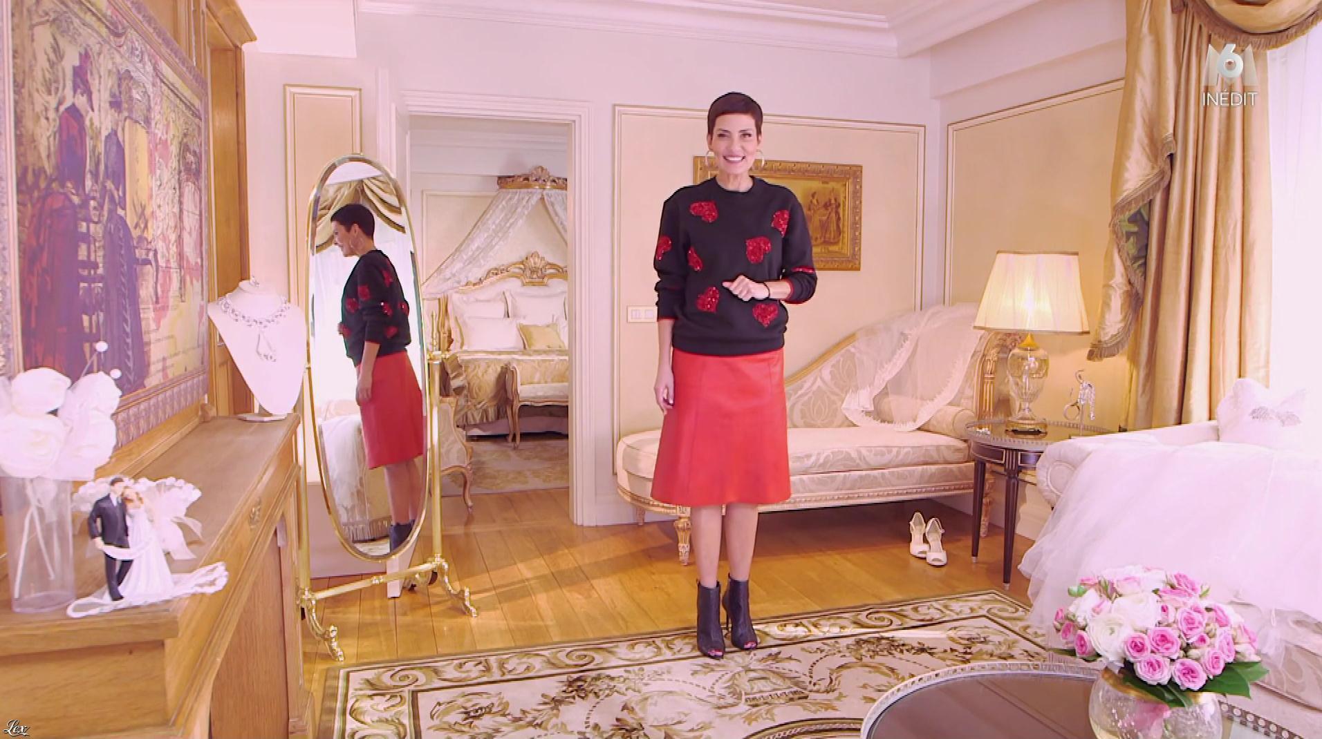 Cristina Cordula dans la Robe de ma Vie. Diffusé à la télévision le 19/03/18.