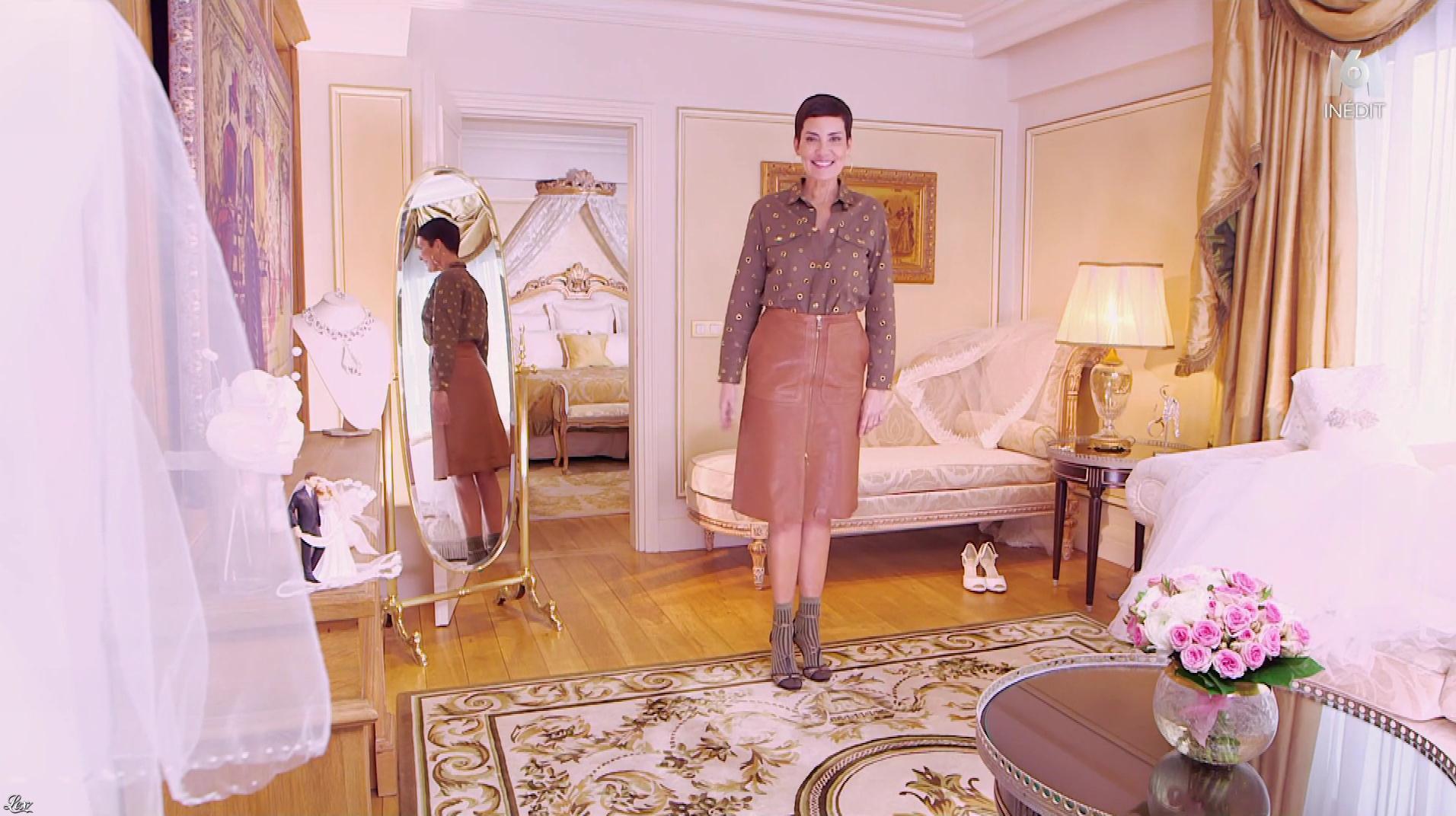 Cristina Cordula dans la Robe de ma Vie. Diffusé à la télévision le 21/03/18.