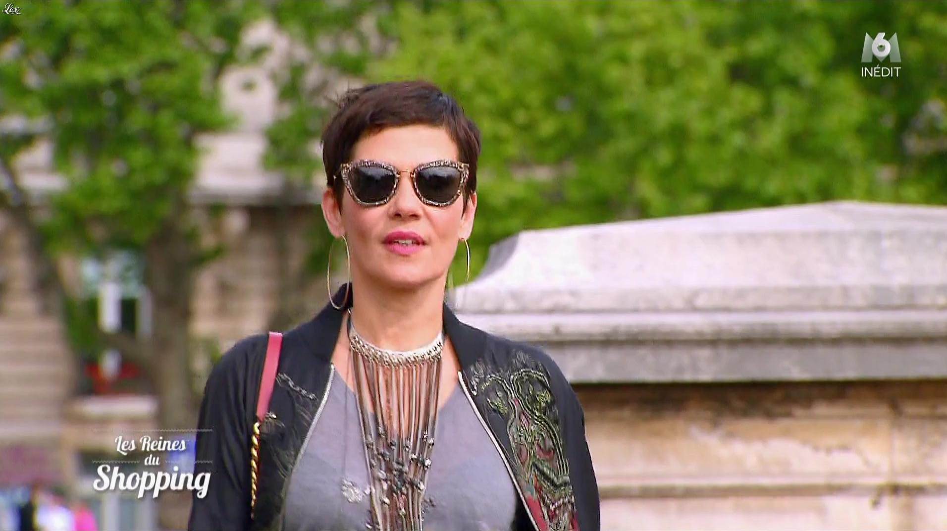 Cristina Cordula dans les Reines du Shopping. Diffusé à la télévision le 07/05/18.