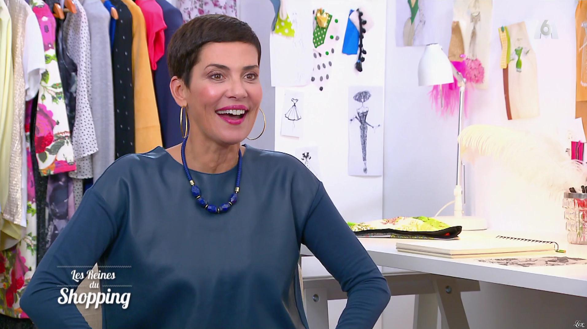 Cristina Cordula dans les Reines du Shopping. Diffusé à la télévision le 09/01/18.