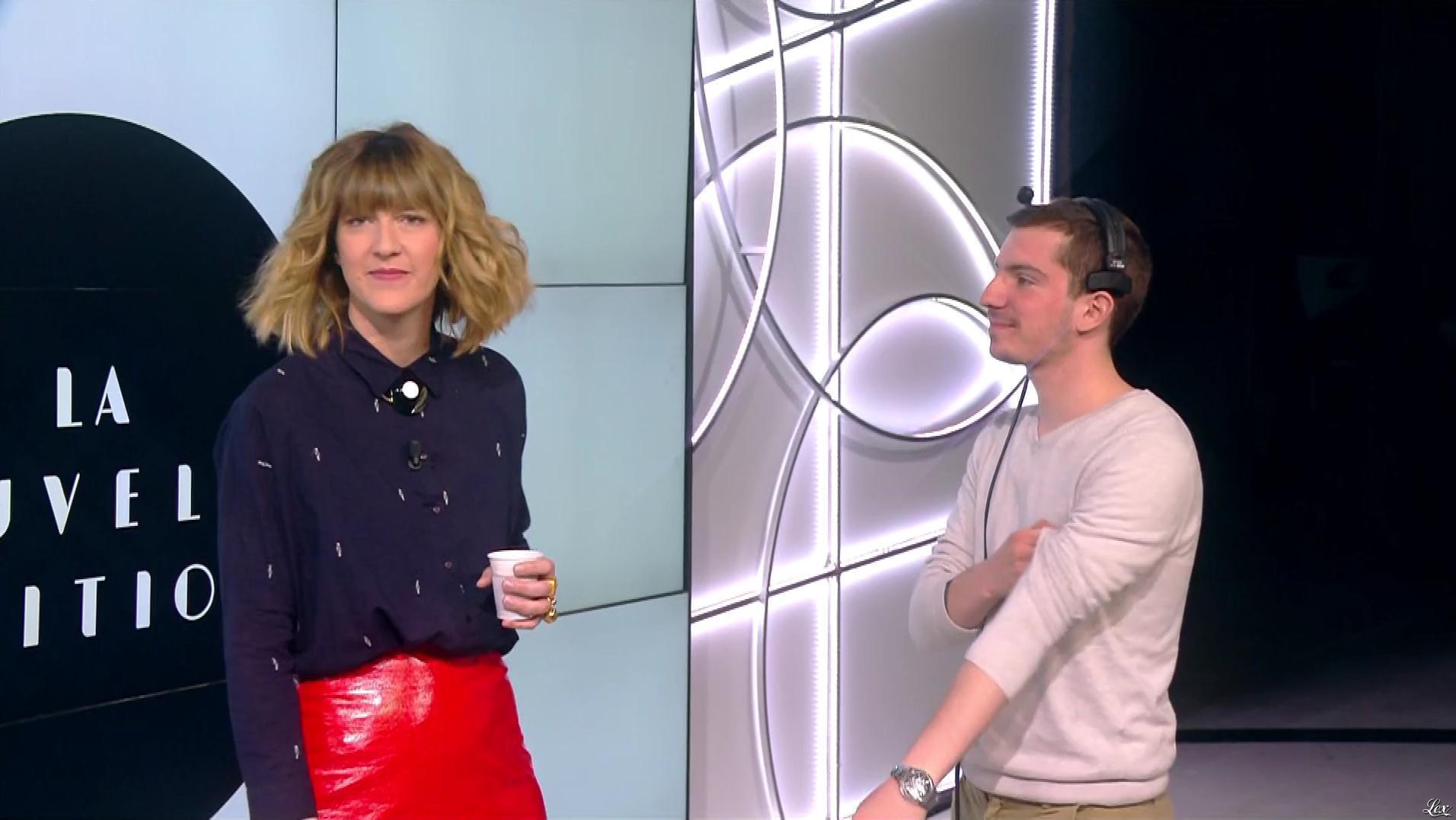 Daphné Burki dans la Nouvelle Edition. Diffusé à la télévision le 19/04/17.