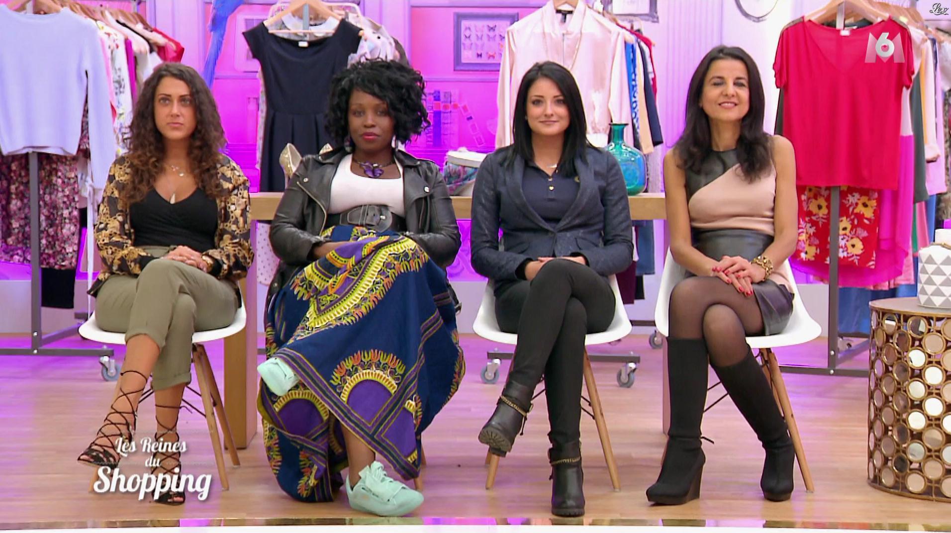 Des Candidates dans les Reines du Shopping. Diffusé à la télévision le 08/01/18.