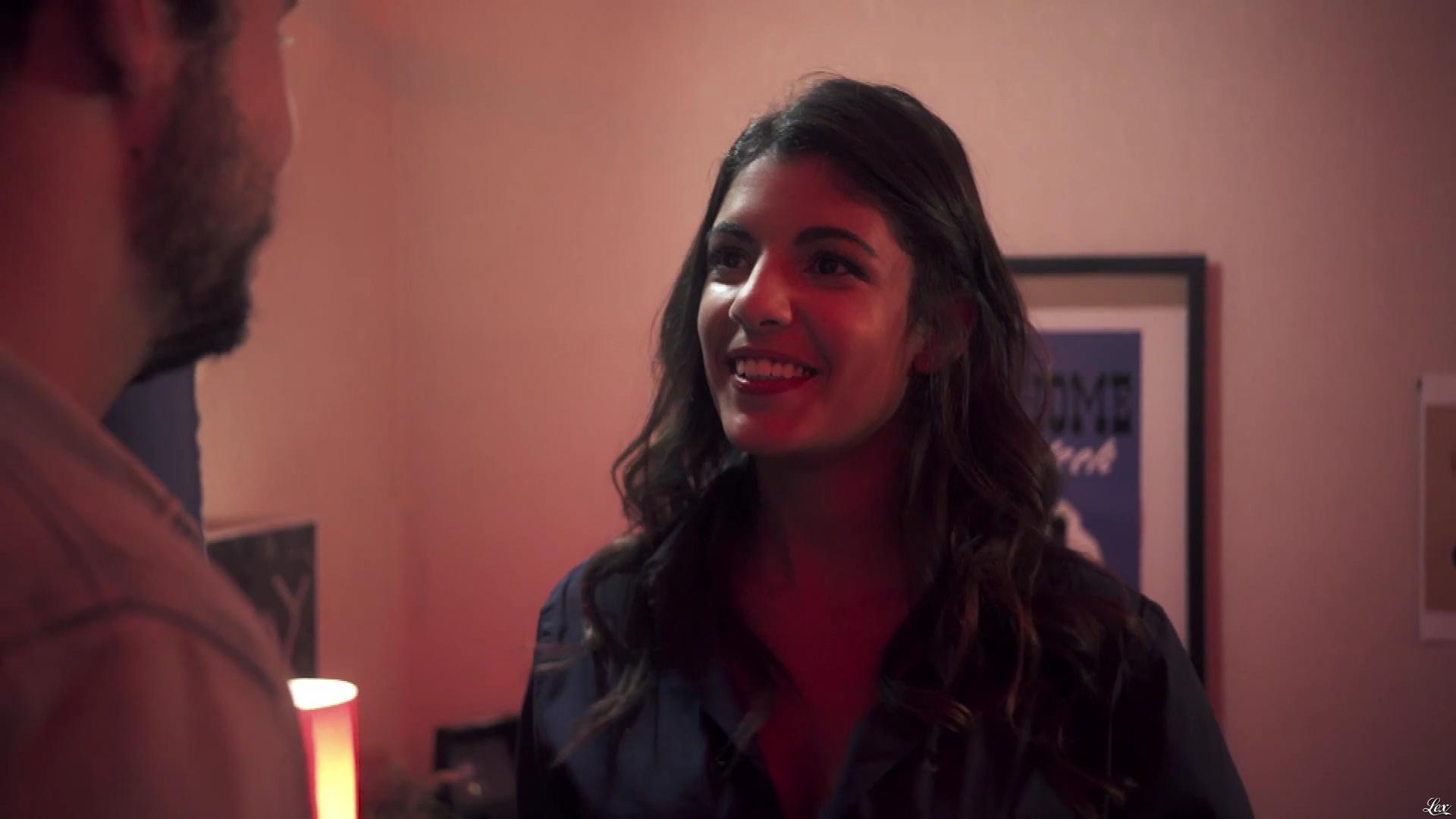 Donia Eden dans Sans Mensonges. Diffusé à la télévision le 21/10/17.
