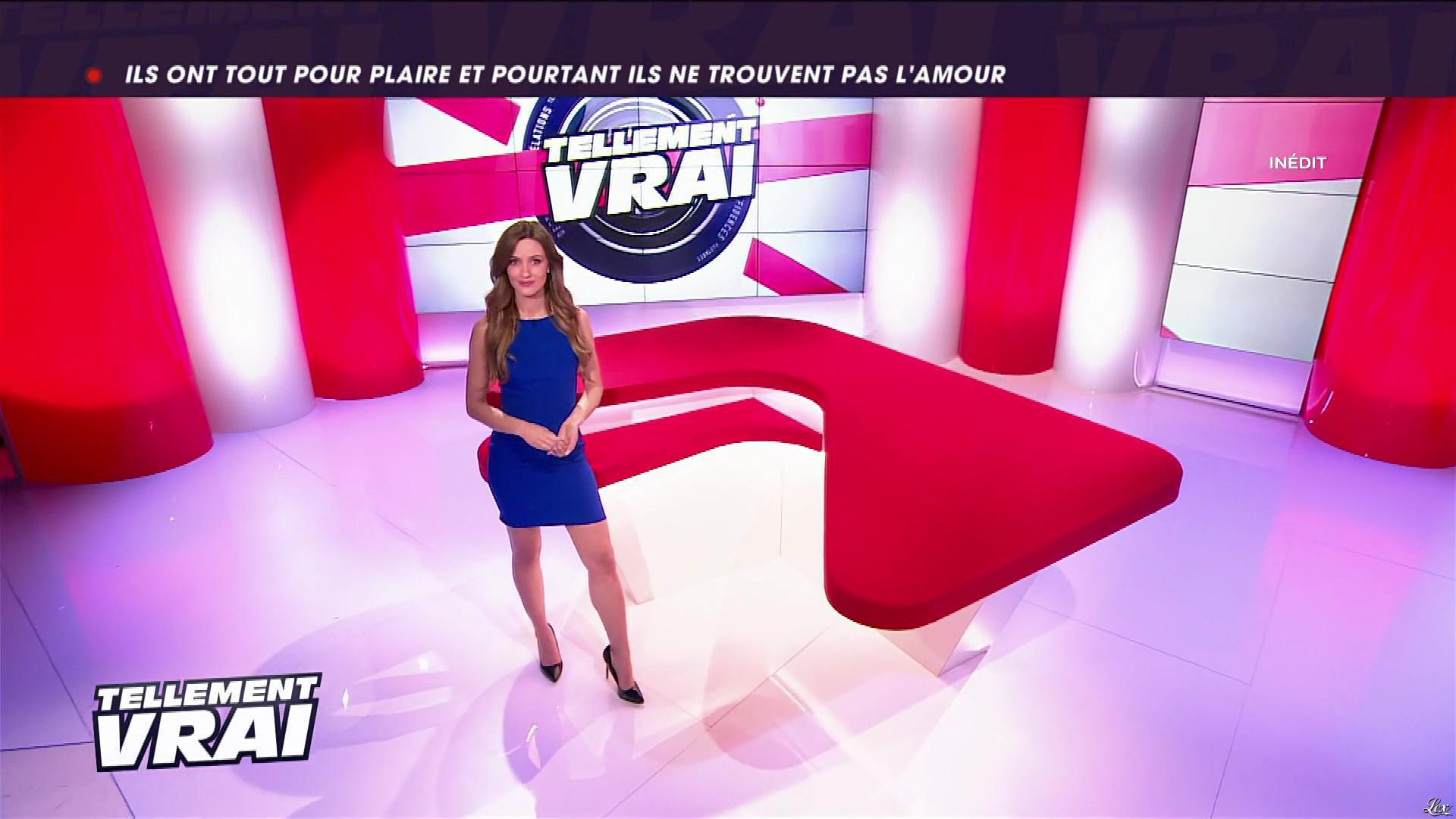 Ellen Batelaan dans Tellement Vrai. Diffusé à la télévision le 08/02/18.