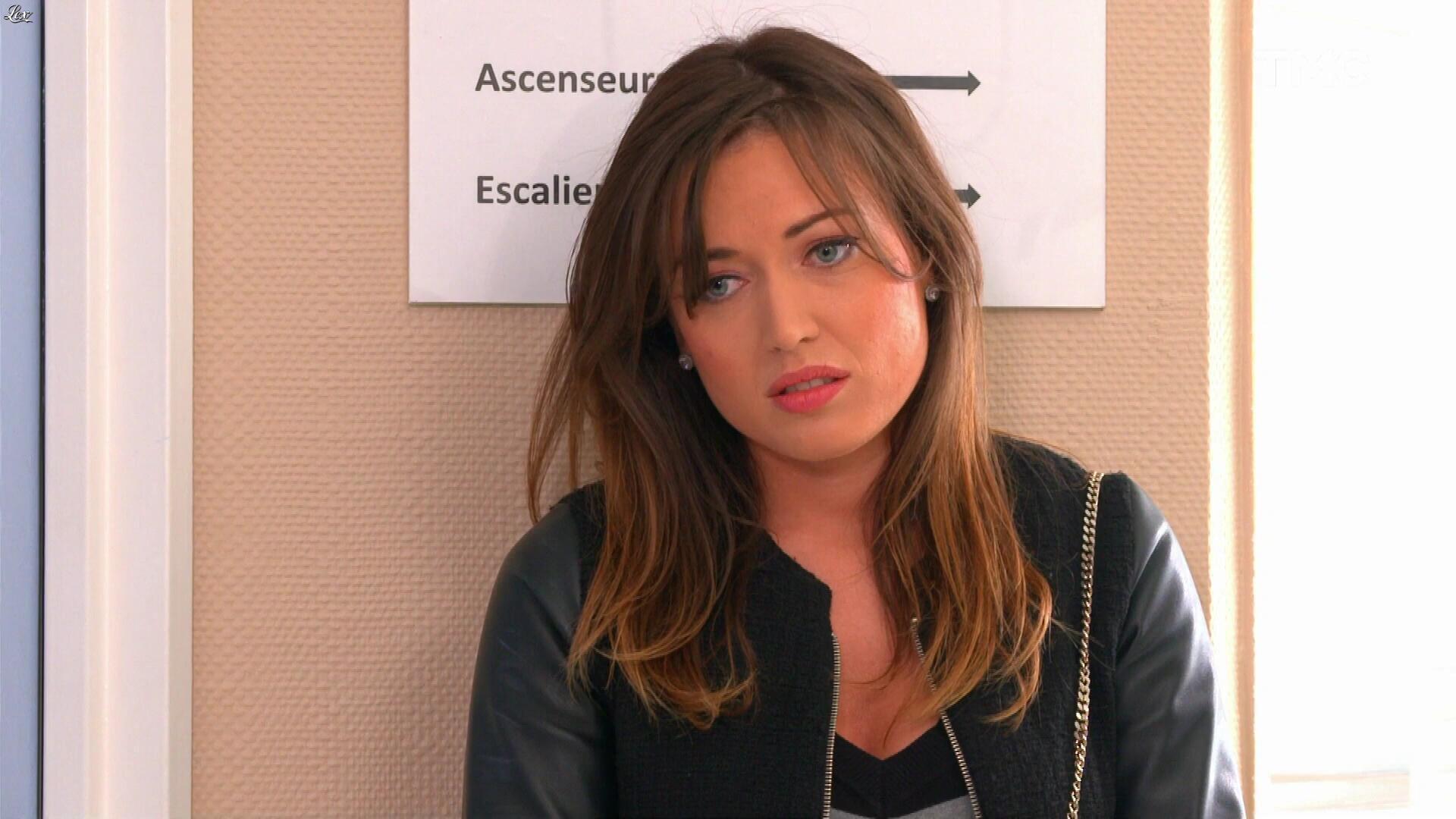 Elsa Esnoult dans les Mystères de l'Amour. Diffusé à la télévision le 26/05/17.