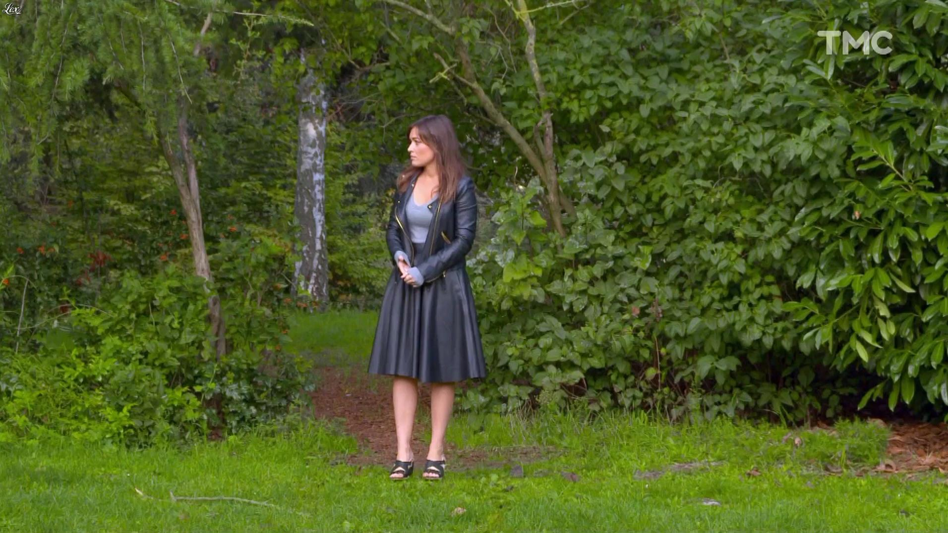 Elsa Esnoult dans les Mystères de l'Amour. Diffusé à la télévision le 26/11/17.