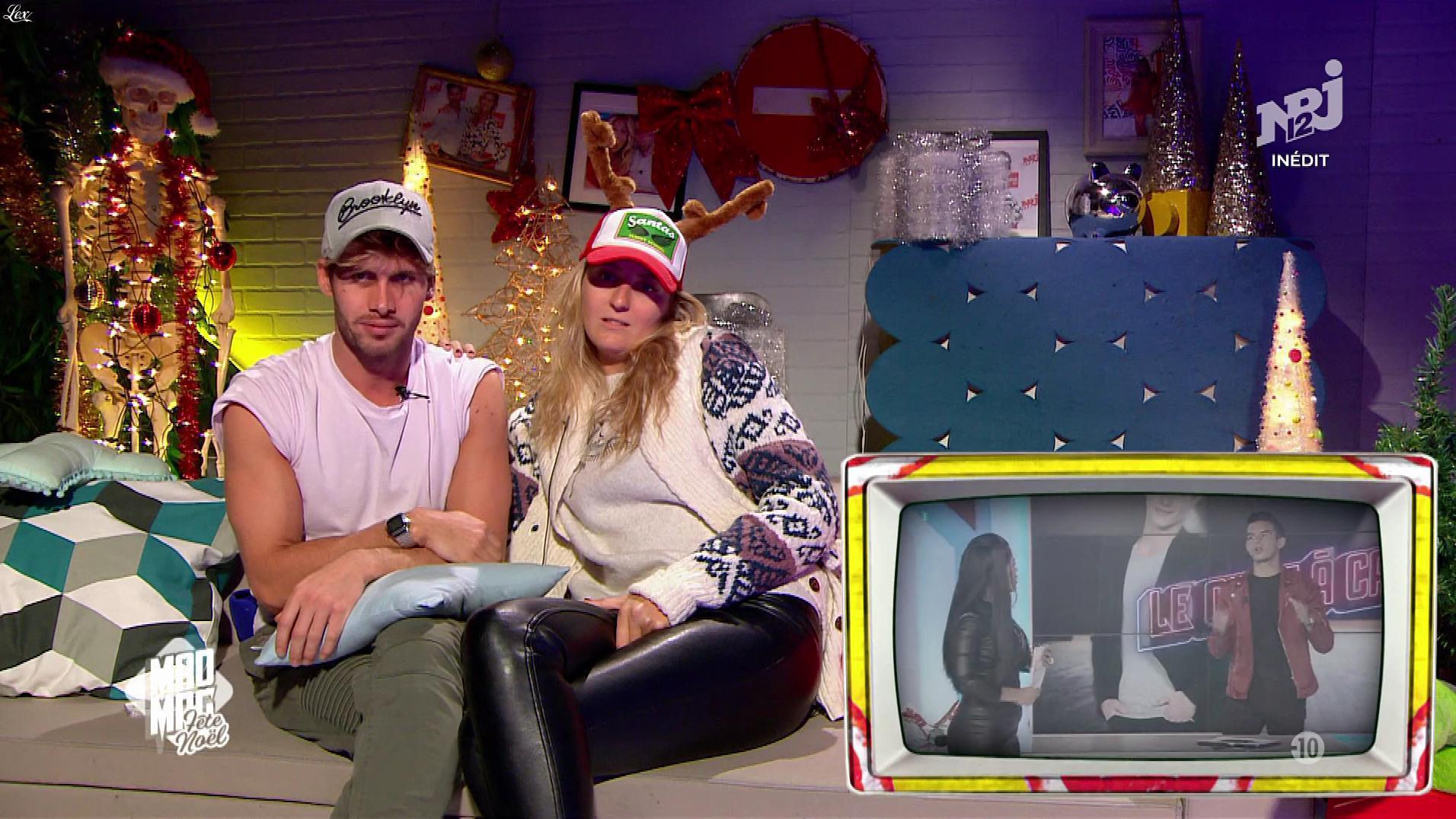 Emilie Picch dans le Mad Mag. Diffusé à la télévision le 25/12/17.