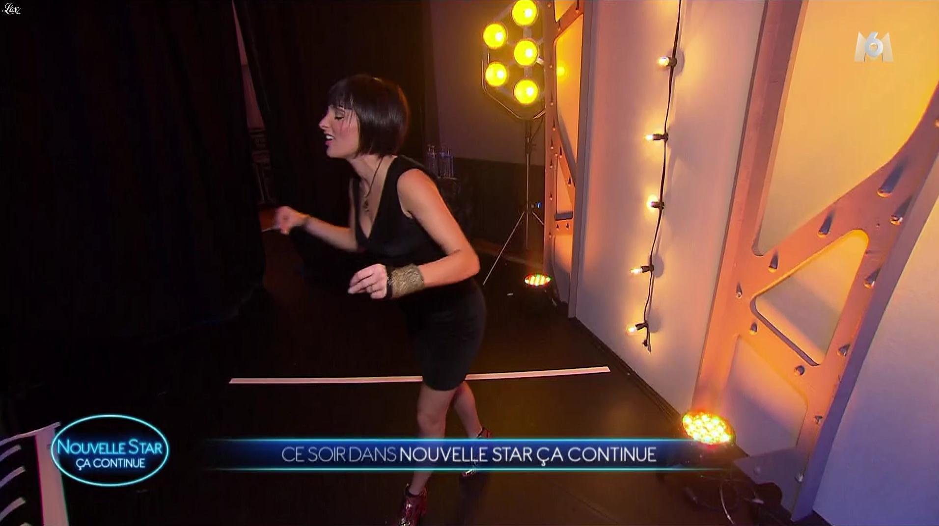 Erika Moulet dans Nouvelle Star. Diffusé à la télévision le 29/11/17.