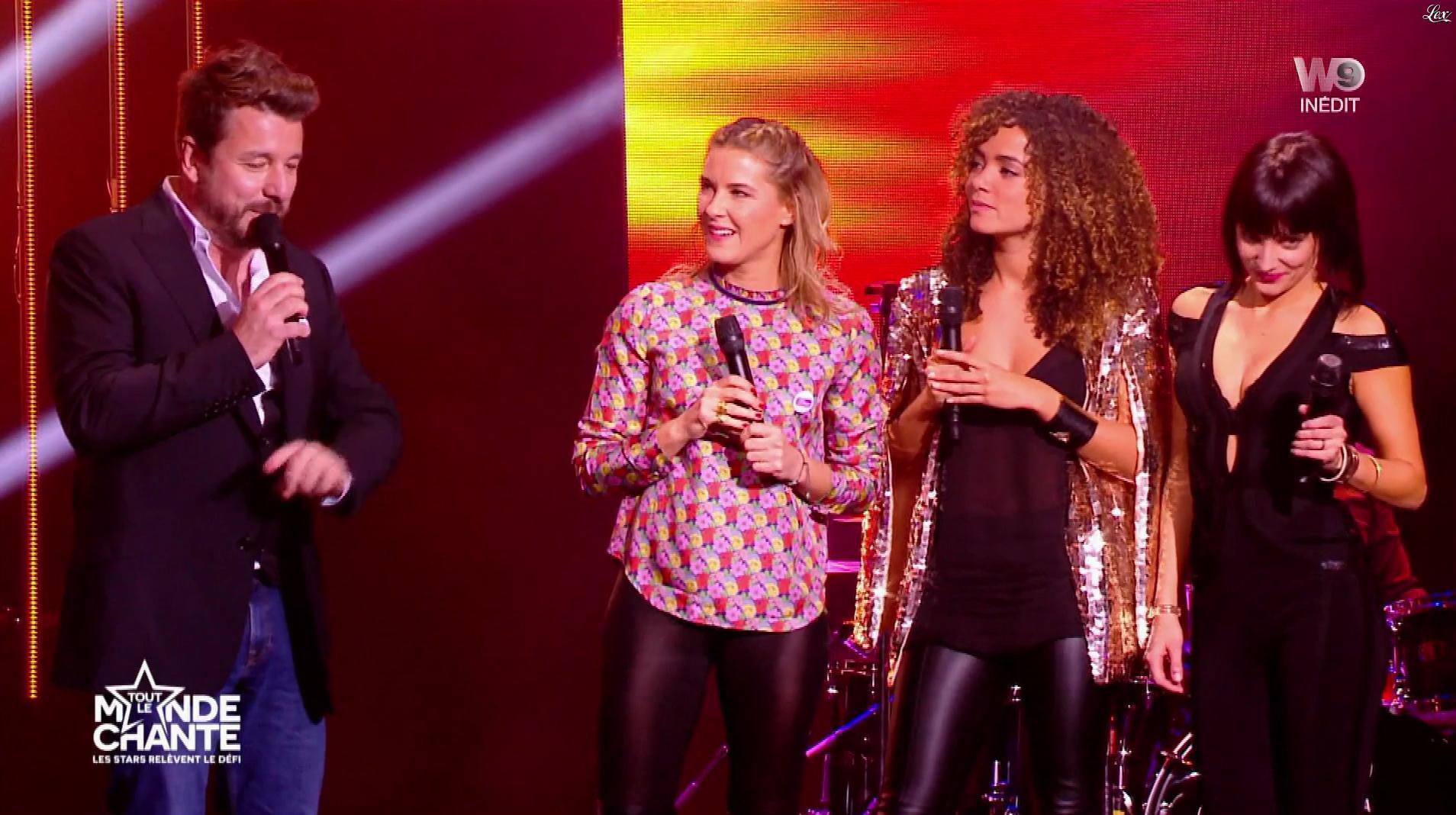 Erika Moulet, Stéphanie Renouvin et Anais Grangerac dans Tout le Monde Chante. Diffusé à la télévision le 22/12/16.