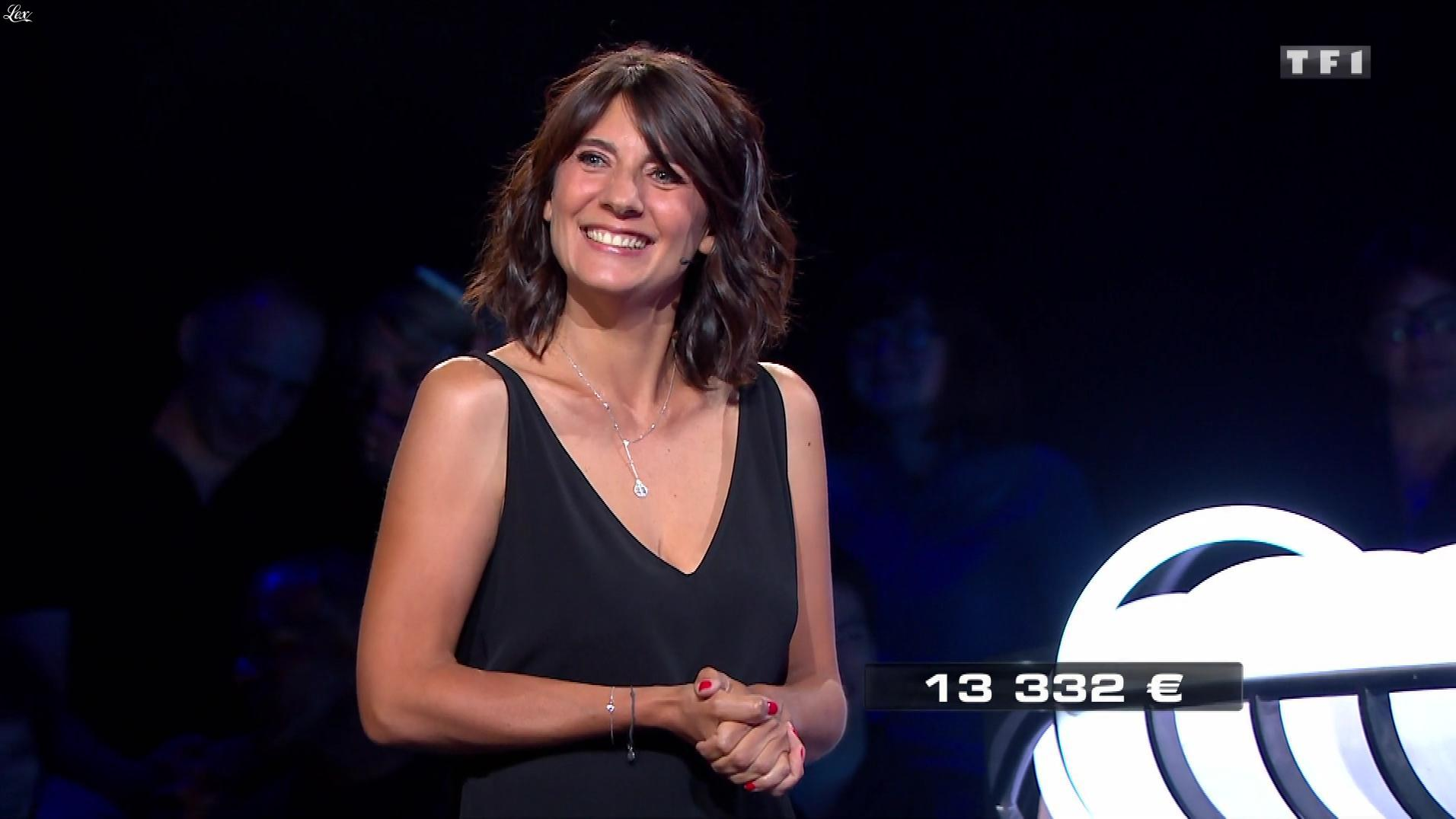 Estelle Denis dans The Wall. Diffusé à la télévision le 30/12/17.