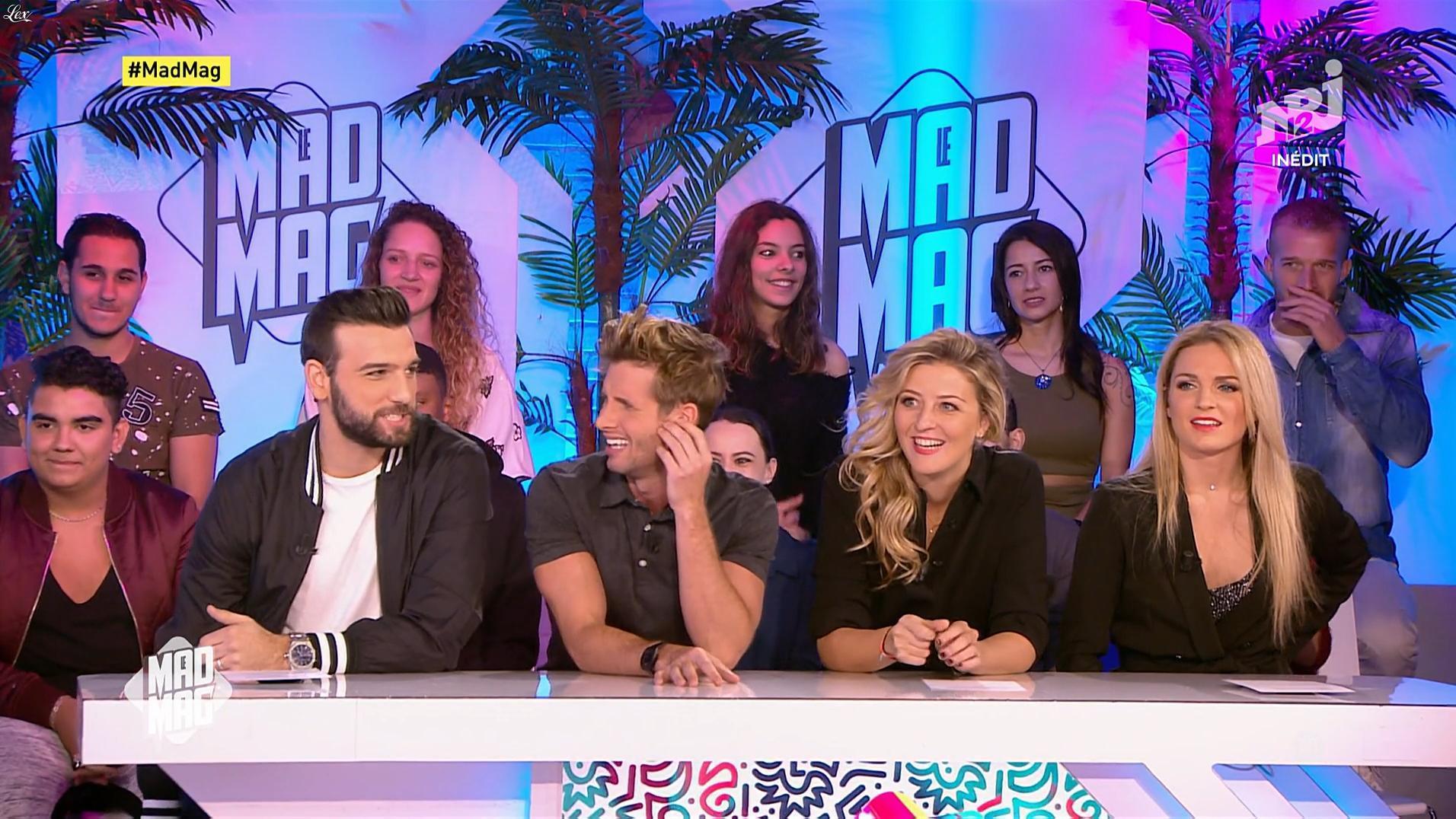 Fiona Deshayes dans le Mad Mag. Diffusé à la télévision le 06/11/17.