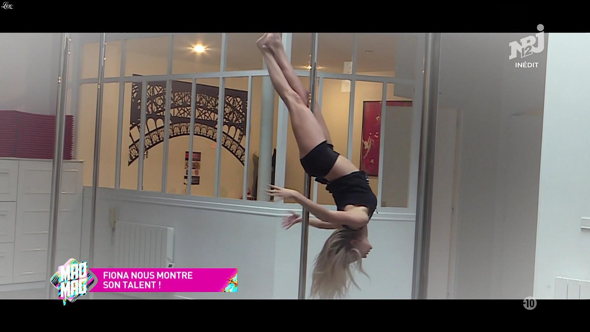 Fiona Deshayes dans le Mad Mag. Diffusé à la télévision le 25/10/17.
