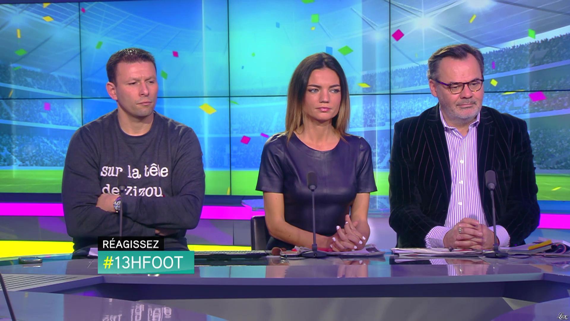 Francesca Antoniotti dans 13h Foot. Diffusé à la télévision le 05/02/17.