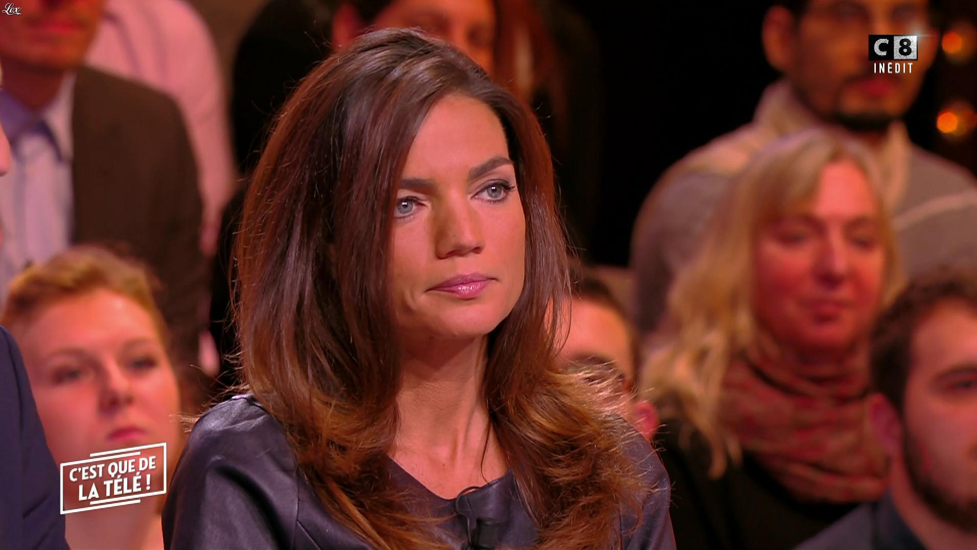 Francesca Antoniotti dans c'est Que de la Télé. Diffusé à la télévision le 04/12/17.