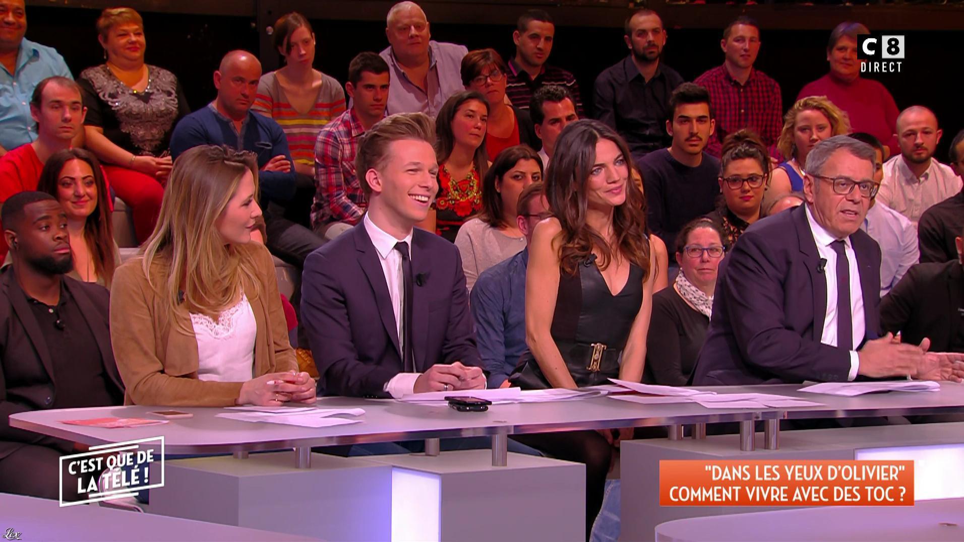 FrancesÇa Antoniotti dans c'est Que de la Télé. Diffusé à la télévision le 16/04/18.