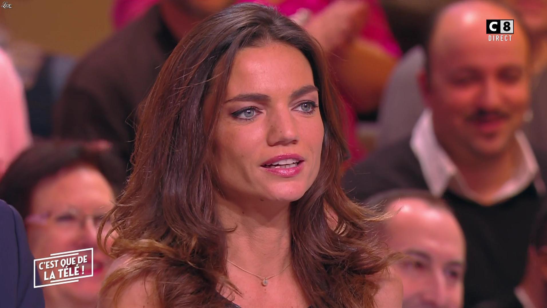 FrancesÇa Antoniotti dans c'est Que de la Télé. Diffusé à la télévision le 24/01/18.
