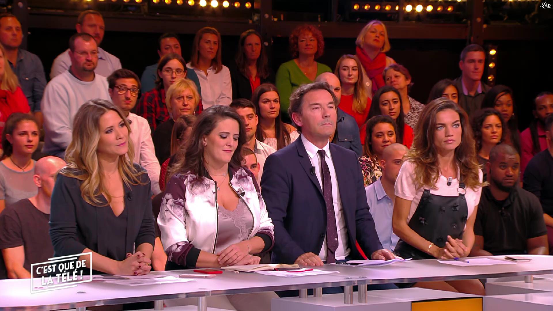 FrancesÇa Antoniotti dans c'est Que de la Télé. Diffusé à la télévision le 24/10/17.