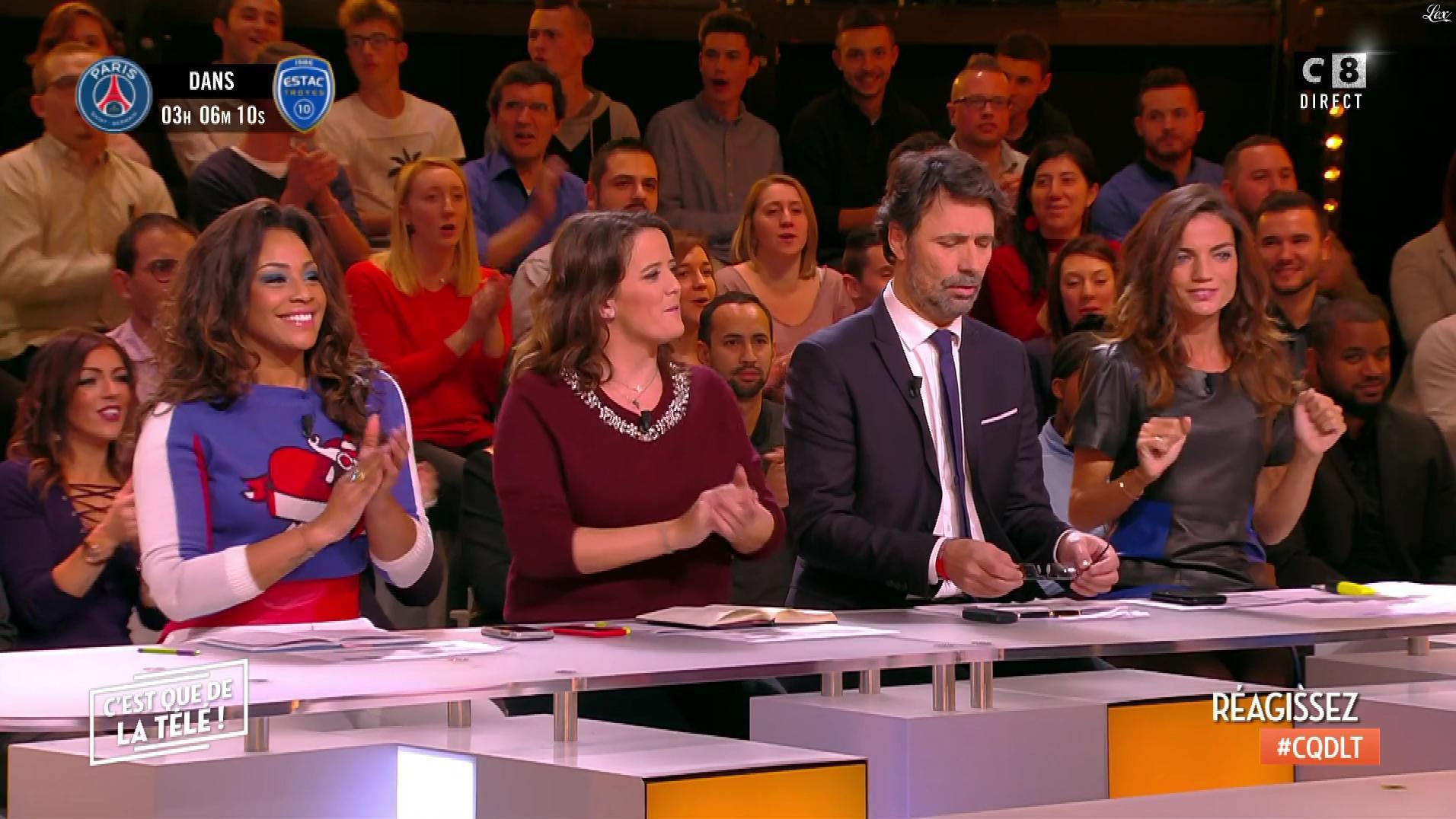 FrancesÇa Antoniotti dans c'est Que de la Télé. Diffusé à la télévision le 29/11/17.