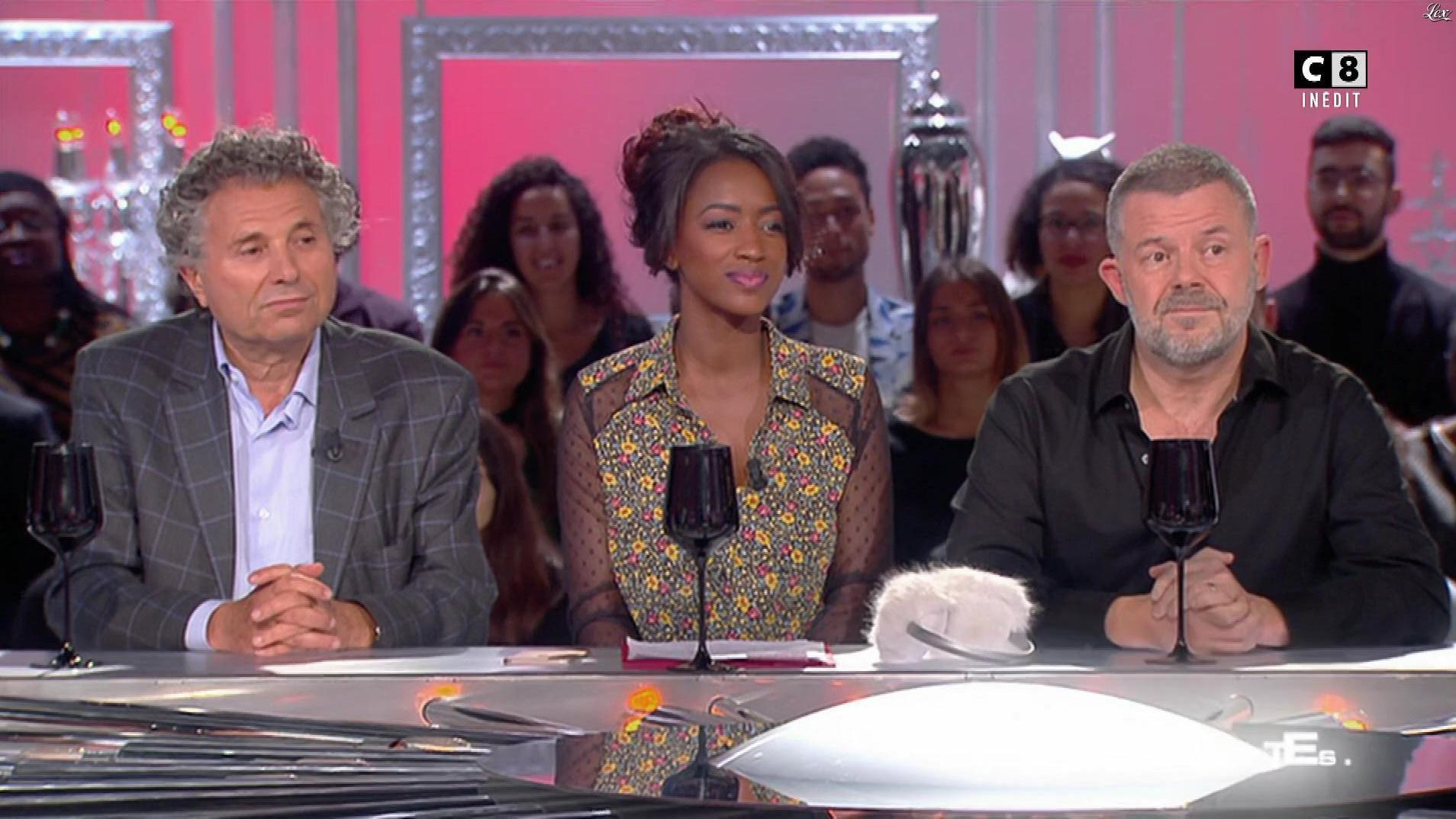 Hapsatou Sy dans les Terriens du Dimanche. Diffusé à la télévision le 08/10/17.