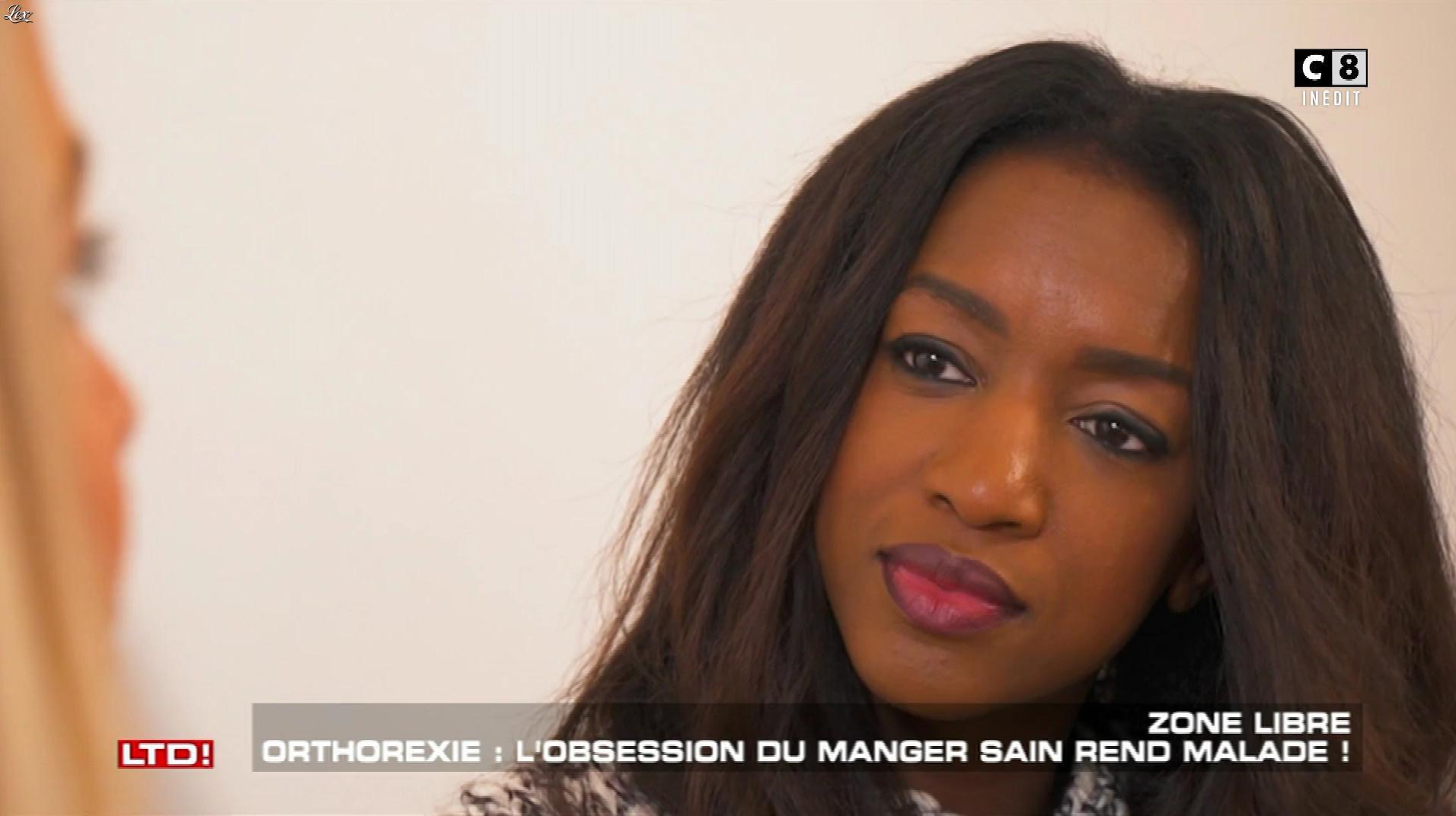 Hapsatou Sy dans les Terriens du Dimanche. Diffusé à la télévision le 15/04/18.