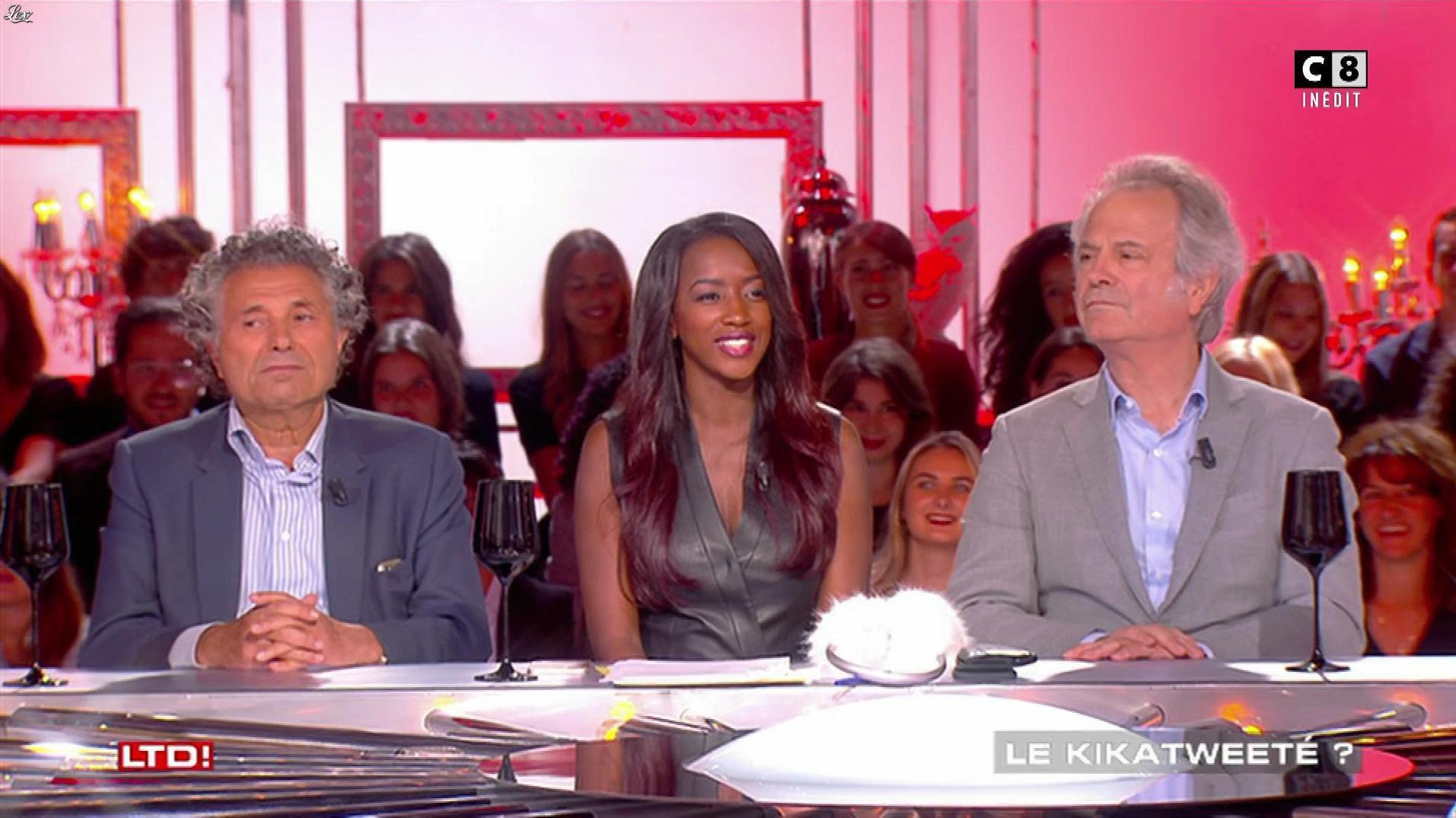 Hapsatou Sy dans les Terriens du Dimanche. Diffusé à la télévision le 24/09/17.