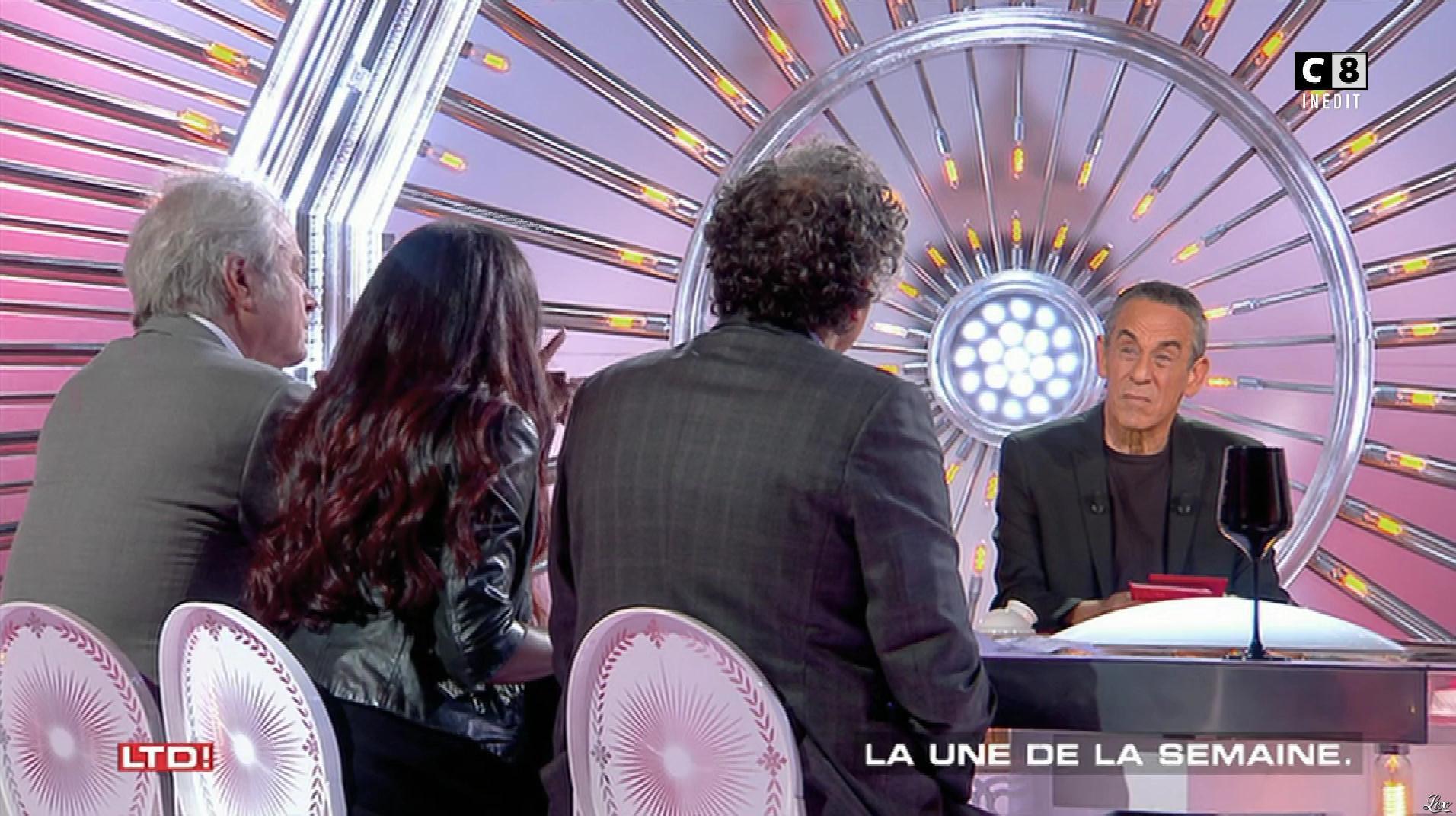 Hapsatou Sy dans les Terriens du Dimanche. Diffusé à la télévision le 29/10/17.