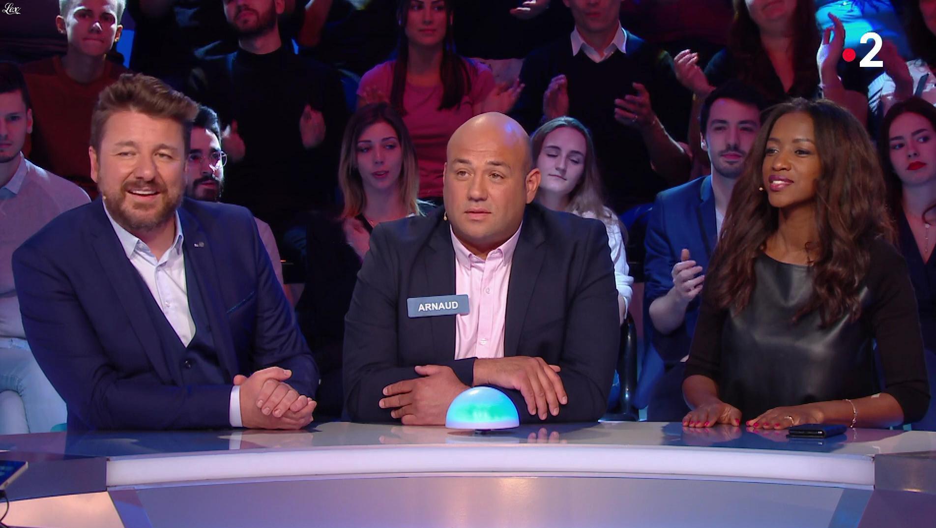 Hapsatou Sy dans Tout le Monde à son Mot à Dire. Diffusé à la télévision le 14/06/18.