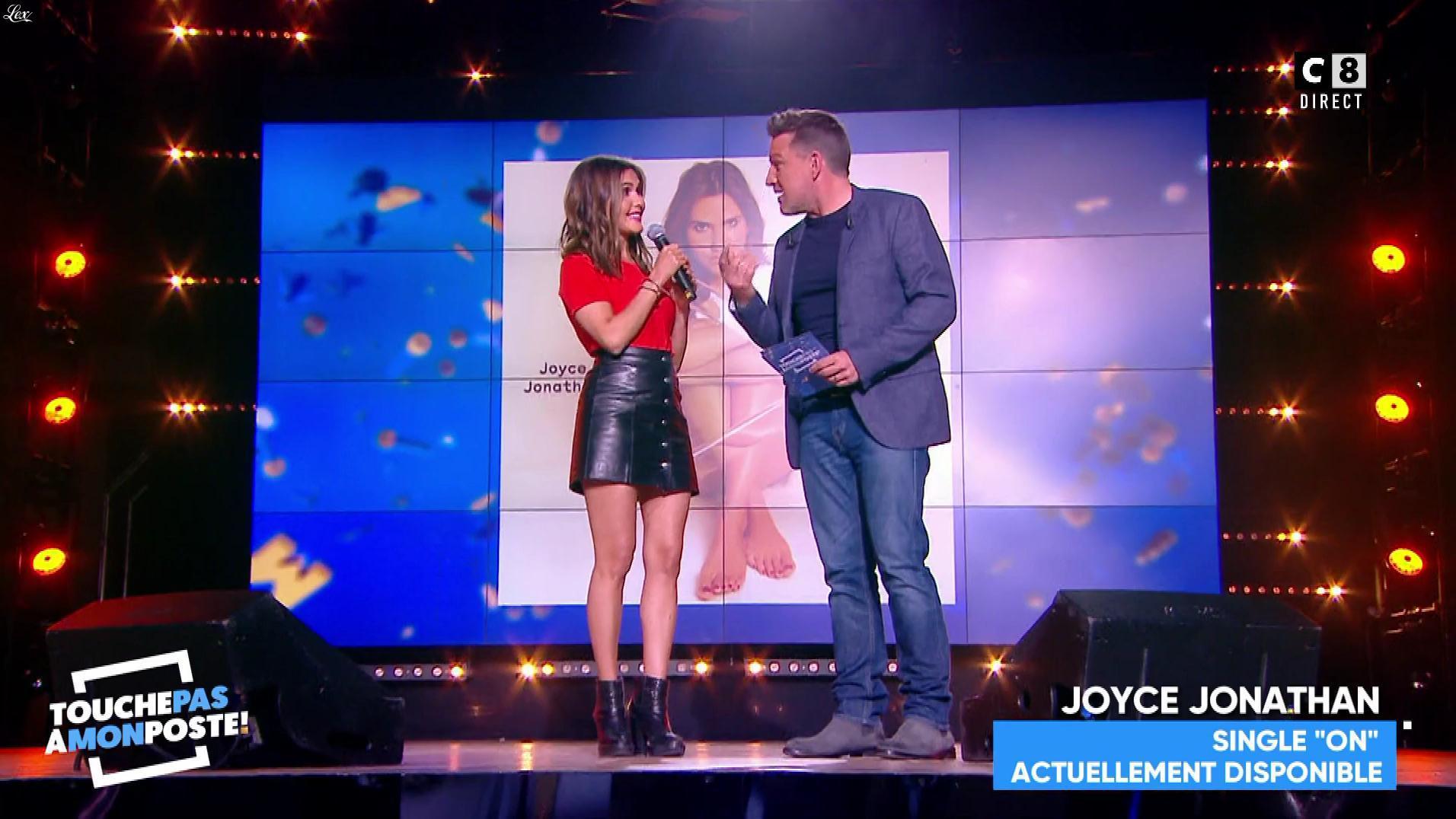 Joyce Jonathan dans Touche pas à mon Poste. Diffusé à la télévision le 04/05/18.