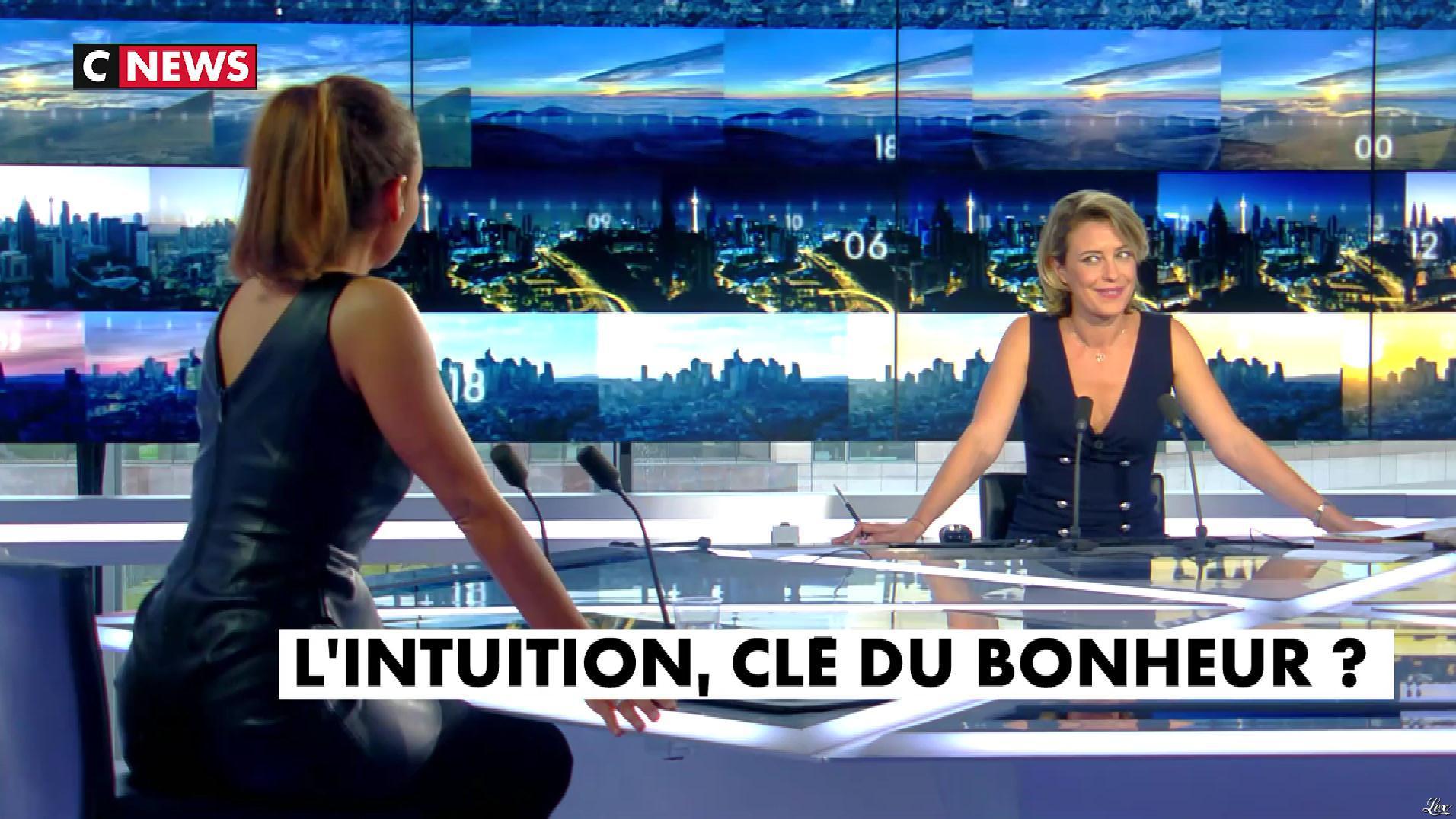Karine Arsene dans la Chronique Bien Etre. Diffusé à la télévision le 13/09/17.