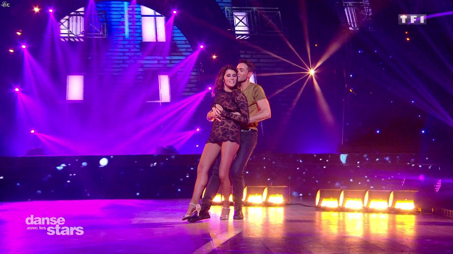 Karine Ferri dans Danse avec les Stars. Diffusé à la télévision le 18/11/17.