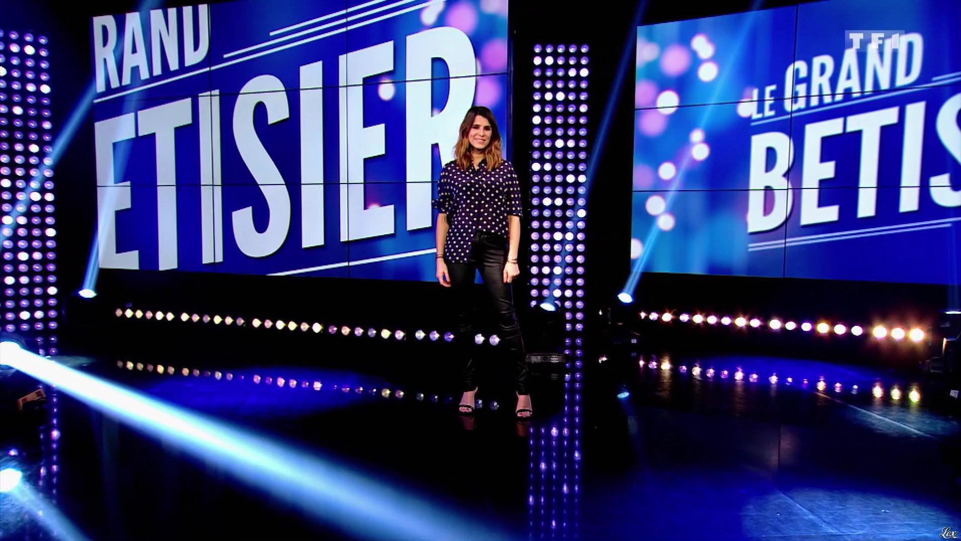Karine Ferri dans le Grand Bêtisier. Diffusé à la télévision le 04/05/18.